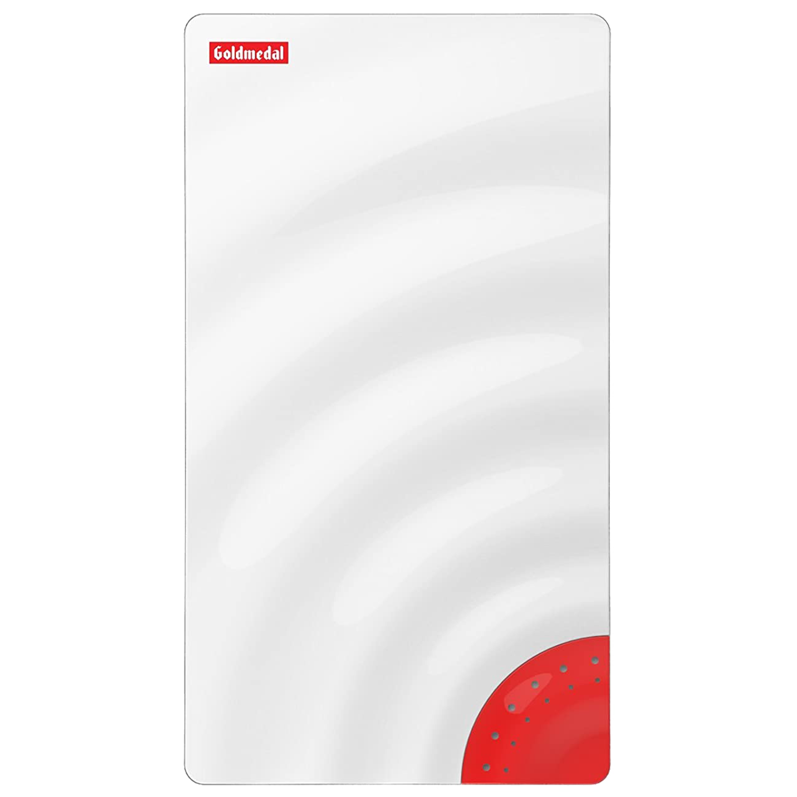 Goldmedal Curve Plus Aqua Door Bell (Stereophonic, 203049, White/Red)_1