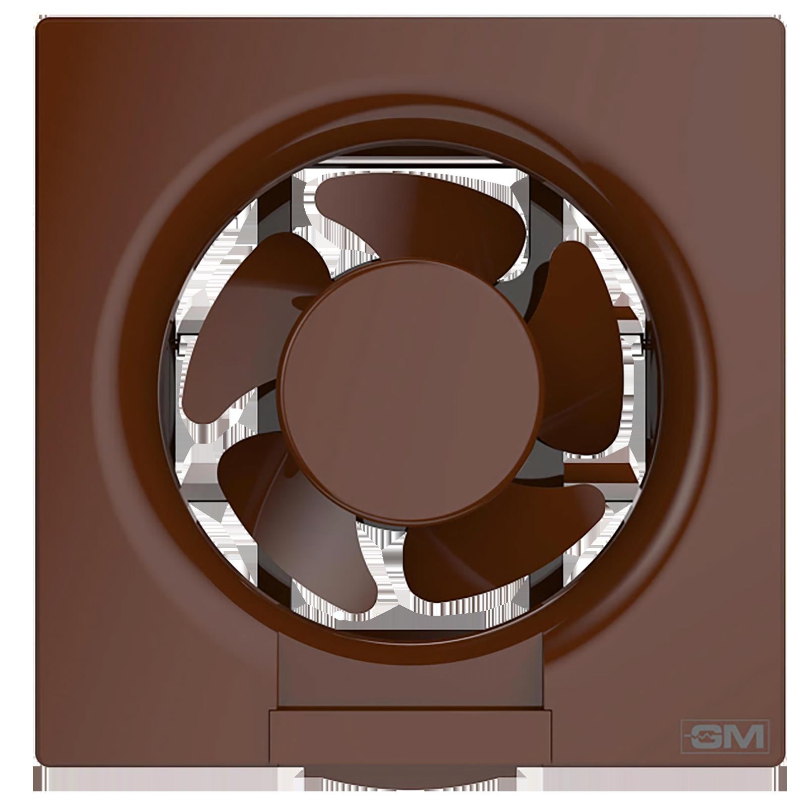 GM Eco Air 25 cm Sweep Exhaust Fan (Noiseless Fan, VFB100014BRGL, Brown)_1