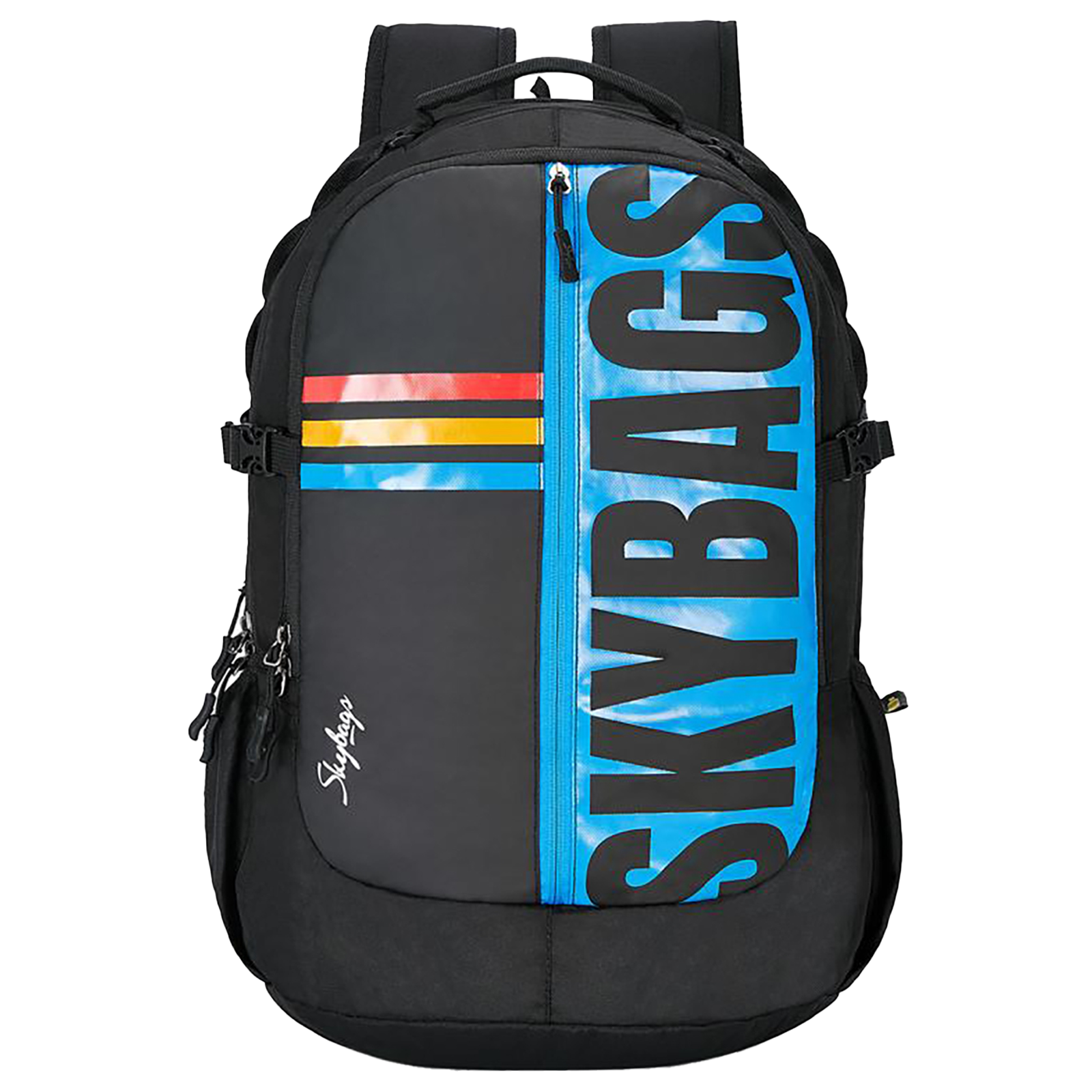 Sky Bags Strider Plus 04 30 Litres Gucci Laptop Backpack (Rain Cover, BPSTRP4HBLK, Black)_1
