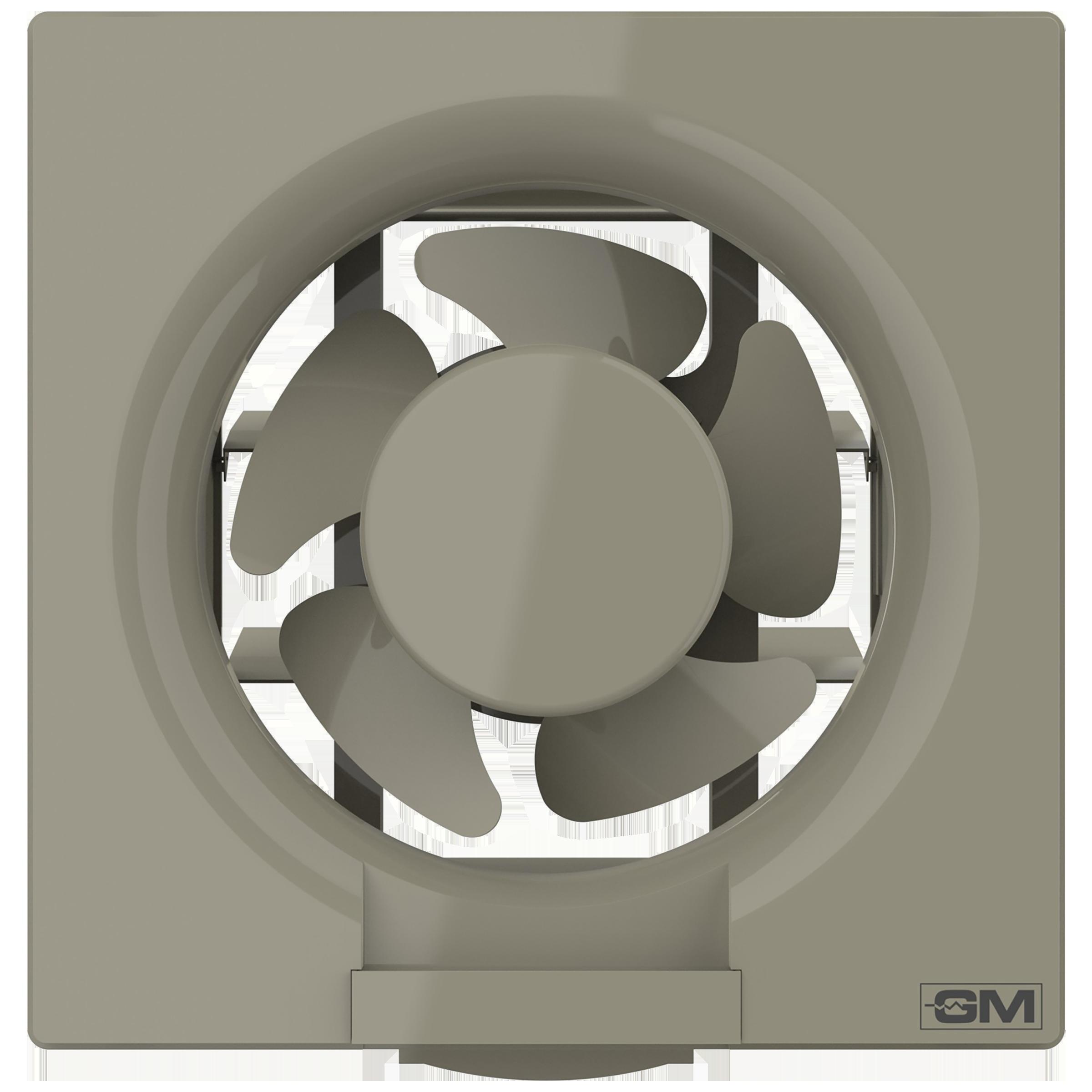 GM Eco Air 25 cm Sweep Exhaust Fan (Noiseless Fan, VFB100014IVGL, White)_1