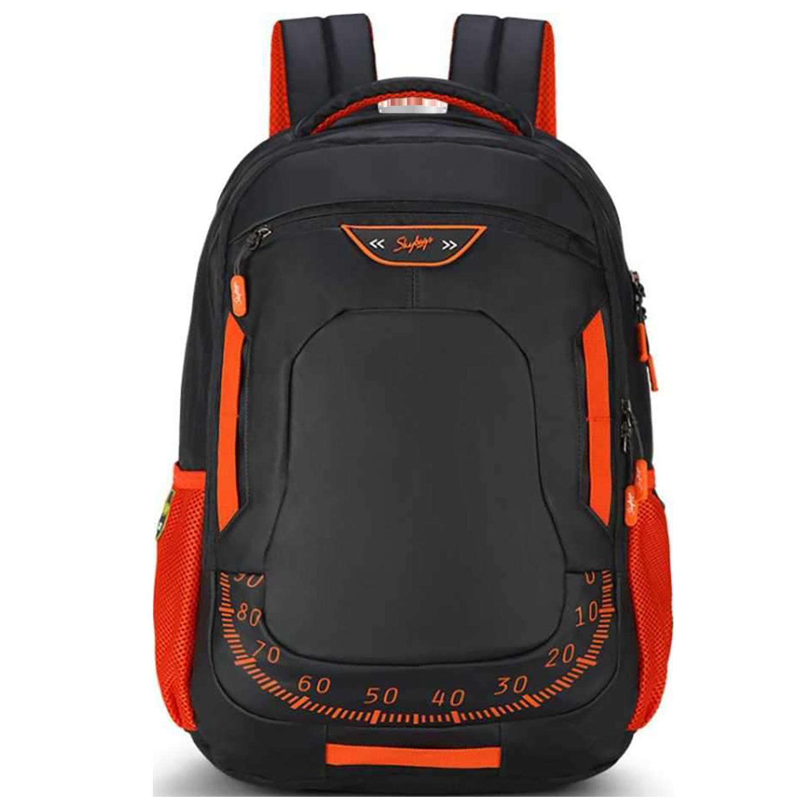 Sky Bags Skater 03 30 Litres Gucci Backpack for 15 Inch Laptop (Rain Cover, LPBPSK3BLK, Black)_1