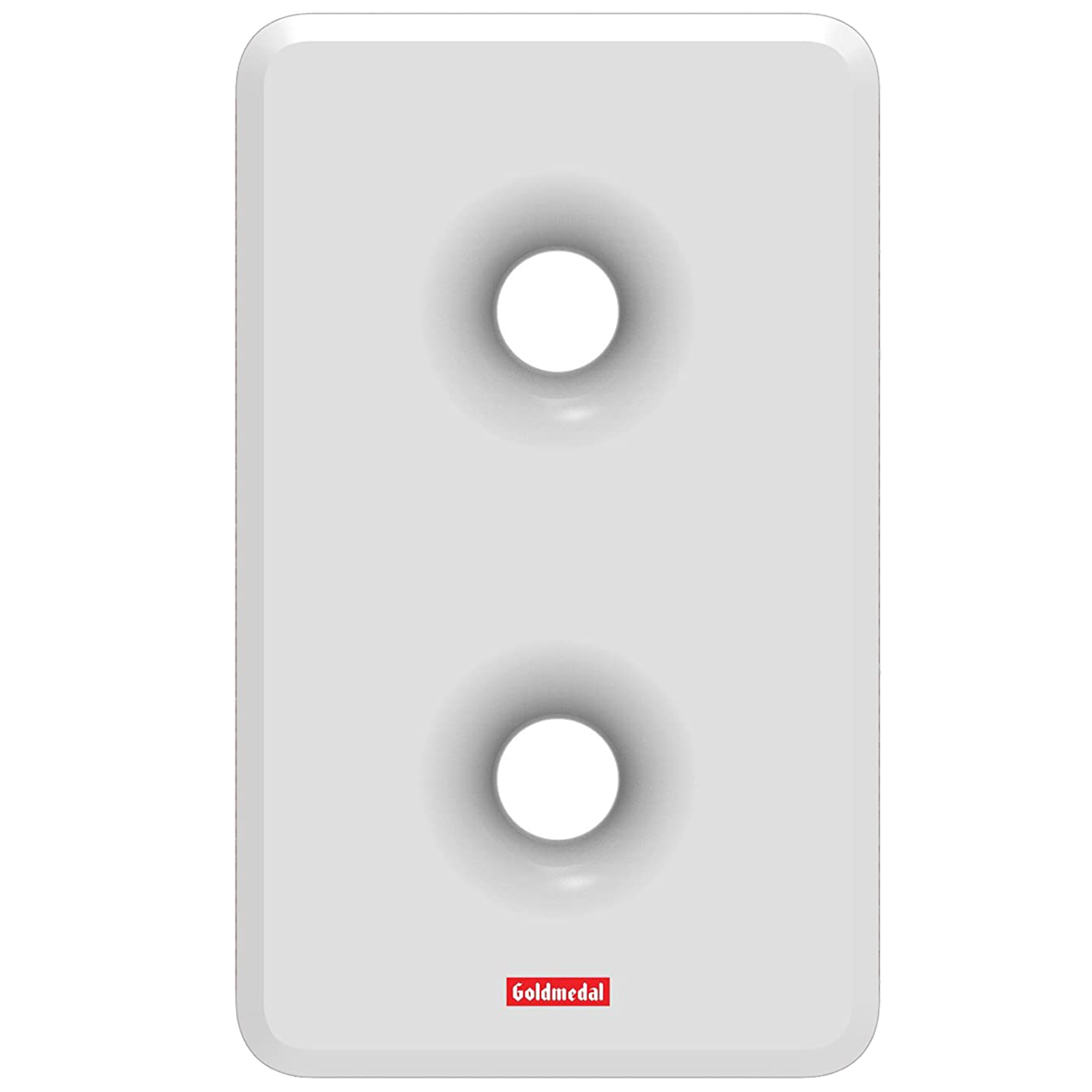 Goldmedal Curve Plus Woofer Door Bell (Stereophonic, 203052, White/Red)_1