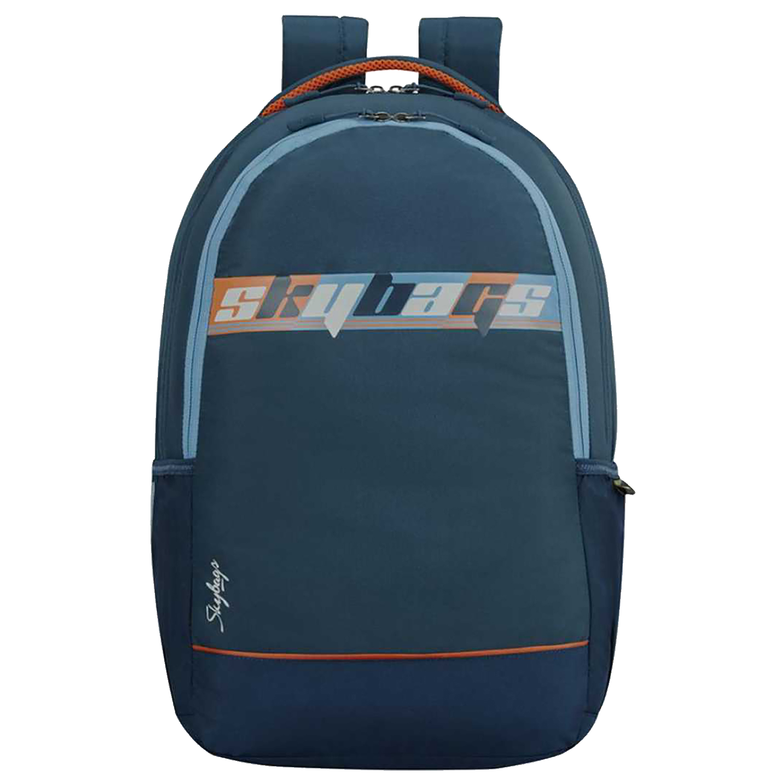 Sky Bags Campus Plus 02 30 Litres Polyester Backpack for 17 Inch Laptop (Water Resistant, LPBPCAP2FGN, Forest Green)_1