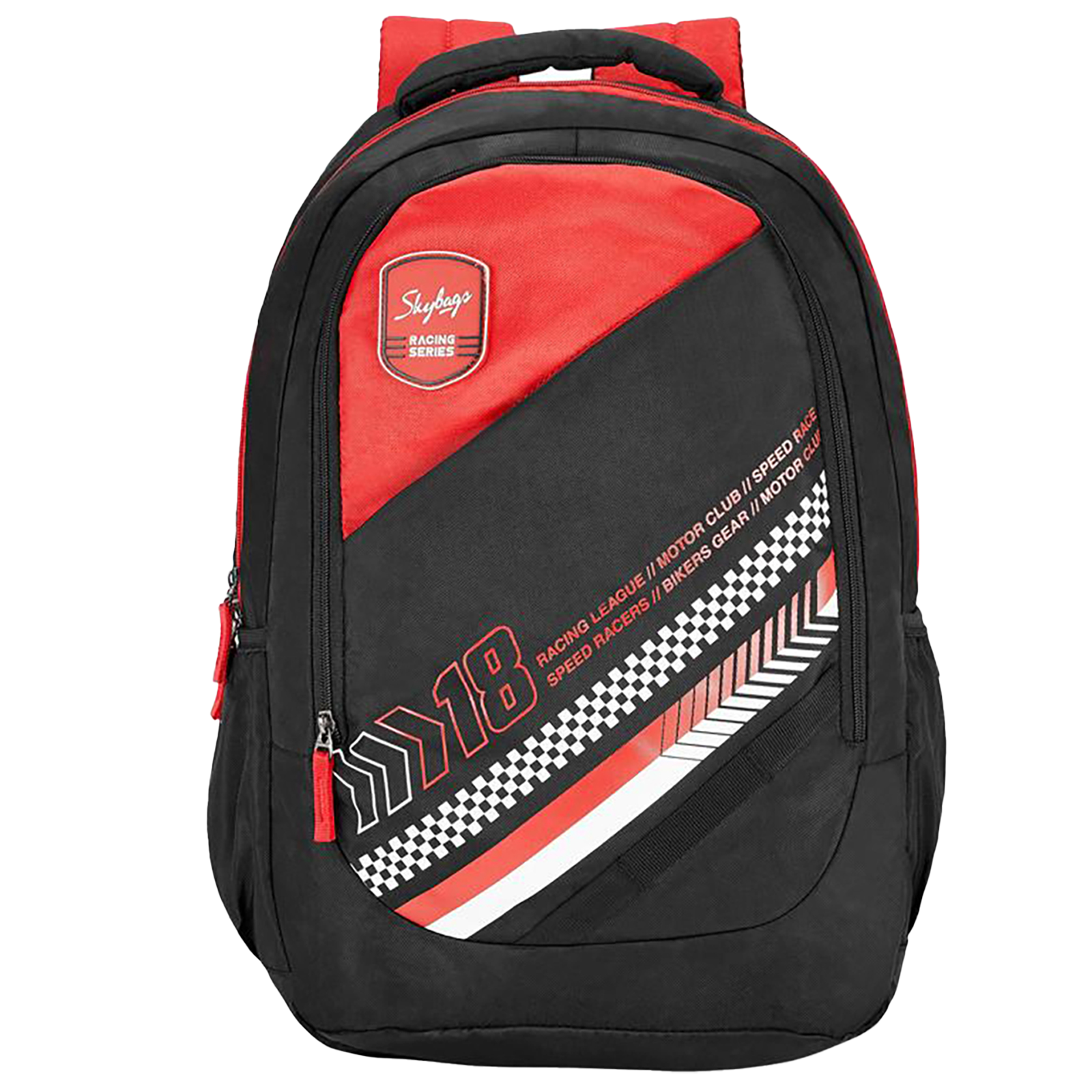 Sky Bags BFF 2 28 Litres Gucci Fabric Backpack (Built to Last Straps, BPBFF2BLK, Black)_1