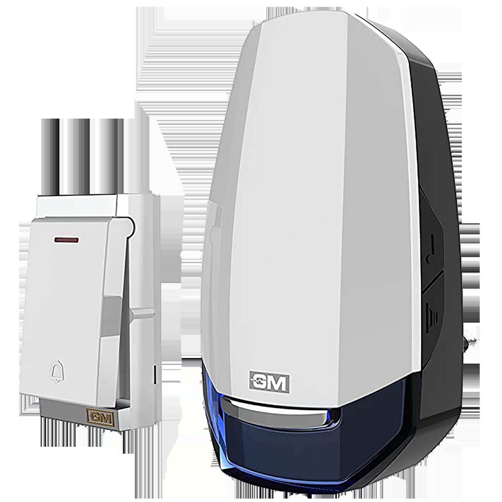 GM Modular ASB Gusto Door Bell (Wireless, 4094, White/Blue)_1