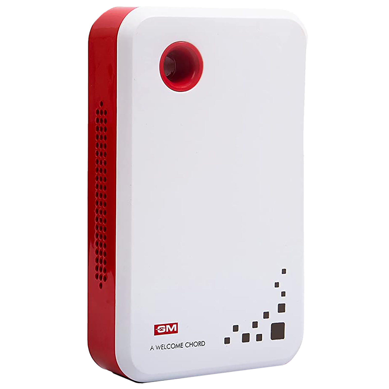 GM Strio Door Bell (Stereophonic, 4008, White/Red)_1