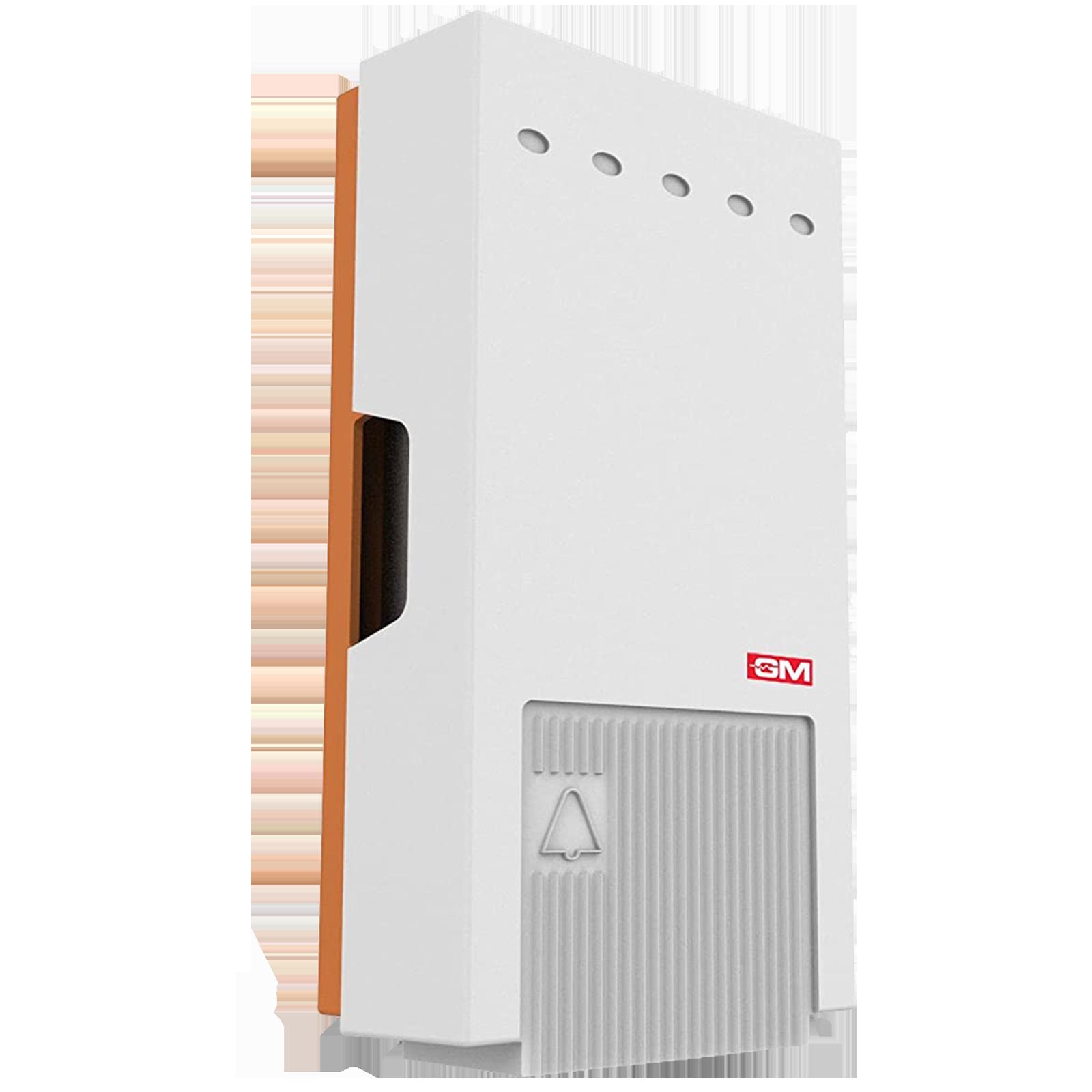 GM Alpha Door Bell (0.5 Watts Power, 4005, White)_1