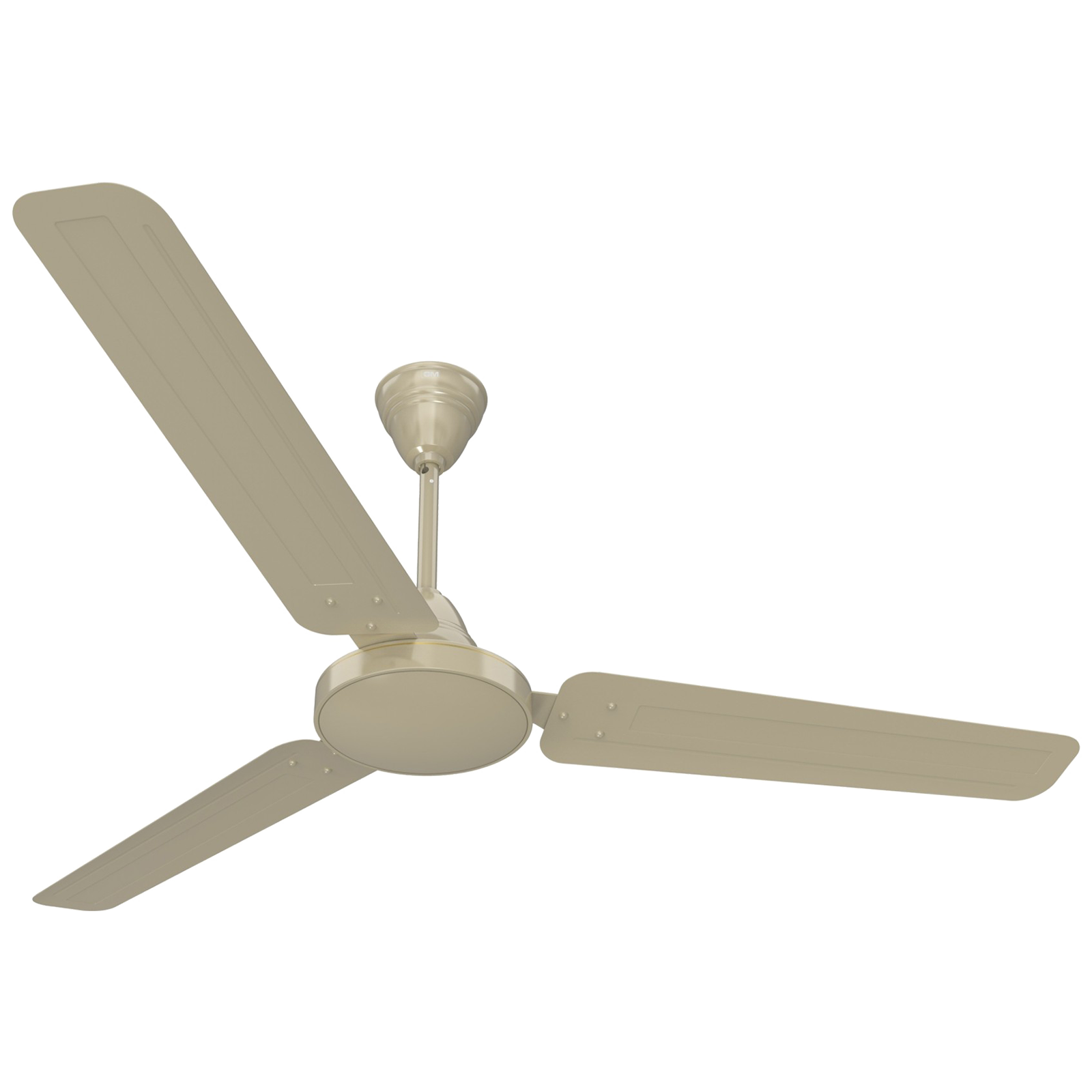GM AIR9 Plus 120 cm Sweep 3 Blade Ceiling Fan (Double Ball Bearing, CFB480032IVGL, White)_1