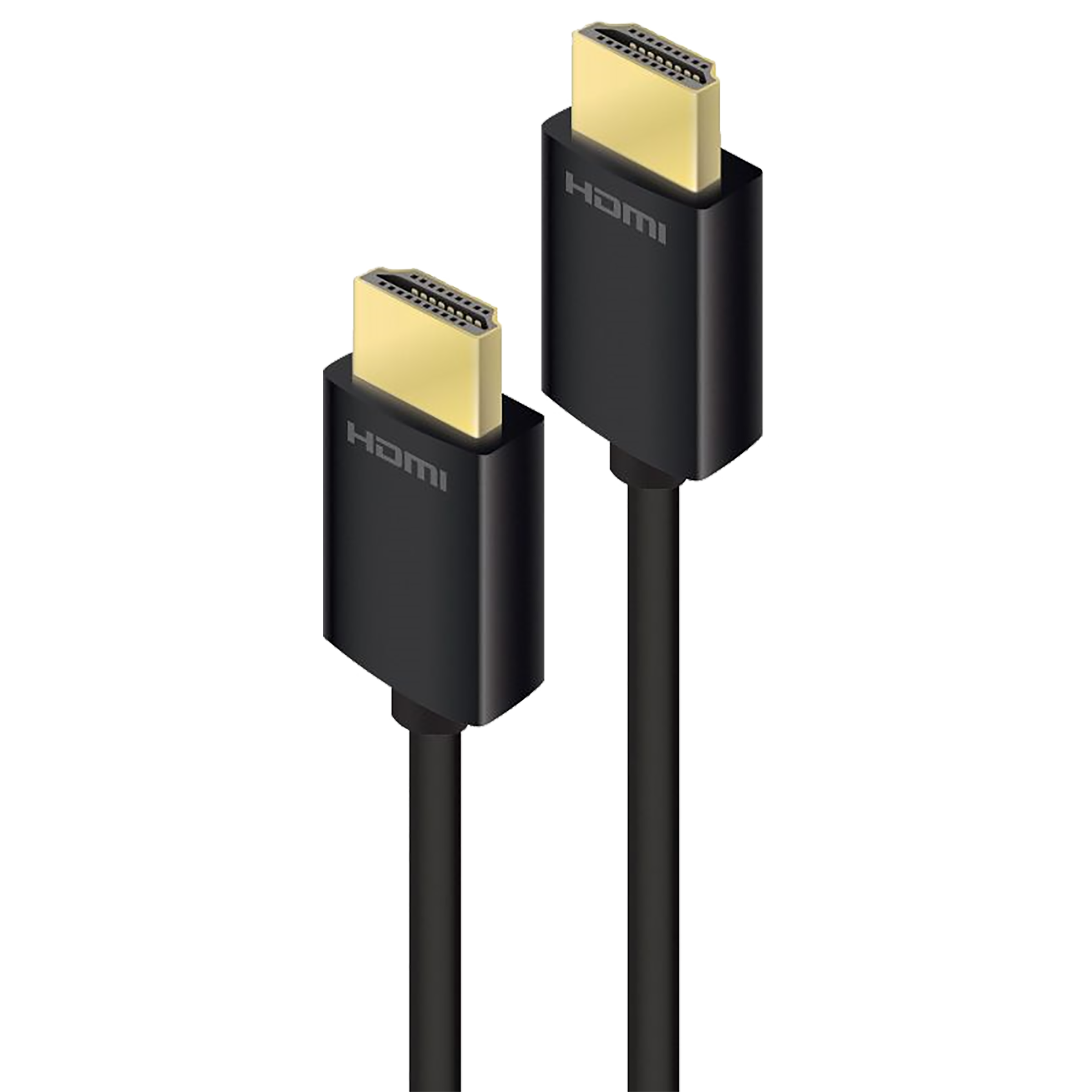 Alogic Carbon Series 2 Meter HDMI (Type-A) to HDMI (Type-A) Audio & Video HDMI Cable (Ethernet Support, PHD-02-MM-V2, Black)_1