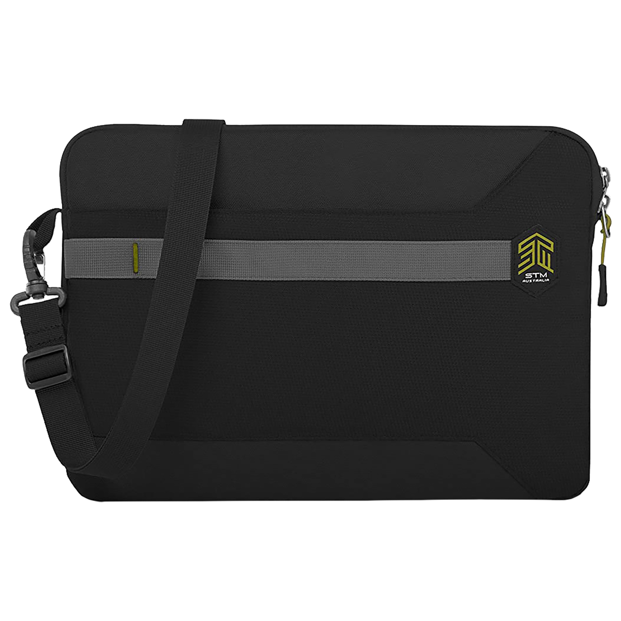 STM Blazer Litres Polyester Sleeve for 13 Inch Laptop (Water Resistant Fabric, STM-114-191M-01, Black)_1