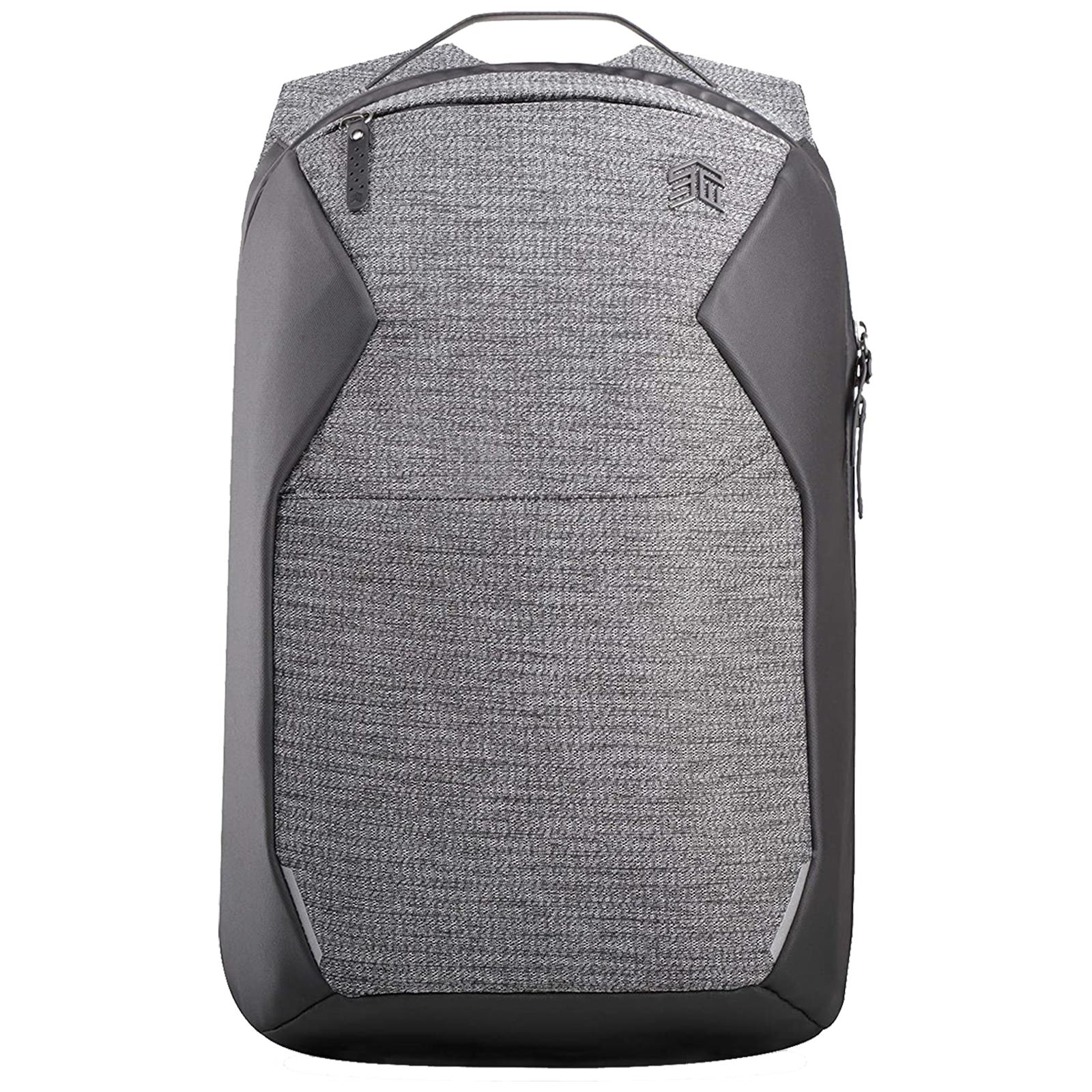 STM Myth 18 Litres Polyester Backpack for 15 Inch Laptop (Water repellent C6DWR Coating, STM-117-186P-01, Granite Black)_1