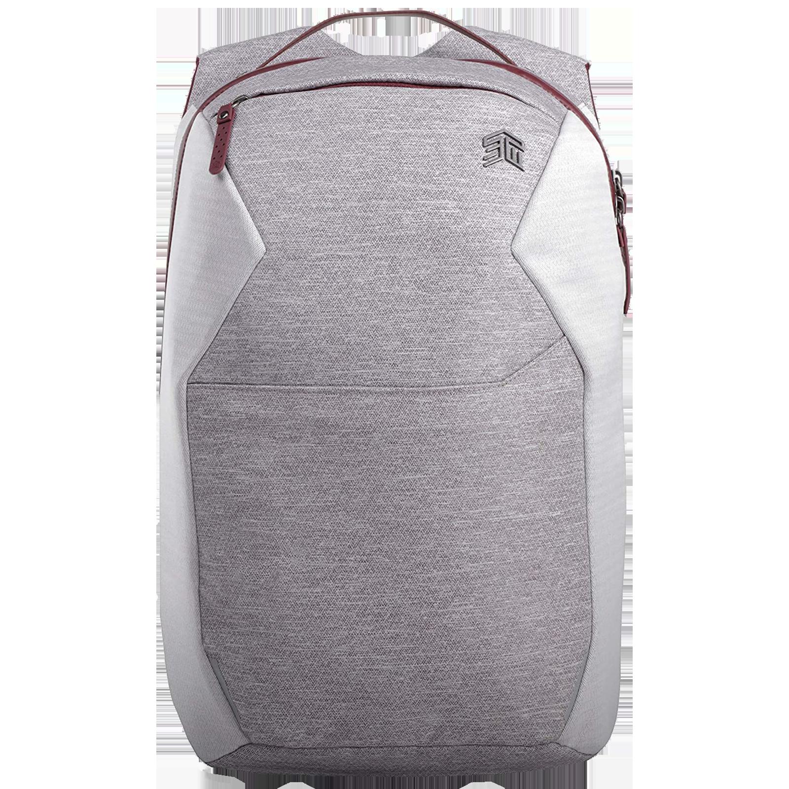STM Myth 18 Litres Polyester Backpack for 15 Inch Laptop (Water repellent C6DWR Coating, STM-117-186P-04, Windsor Wine)_1