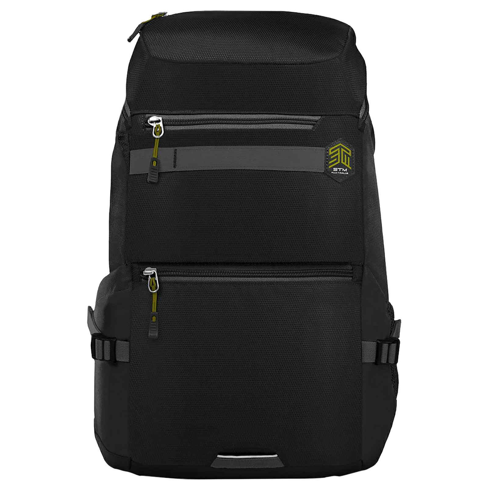 STM Drifter 18 Litres Polyester Backpack for 15 Inch Laptop (3D Foam Mesh Back Panel, STM-111-192P-01, Black)_1