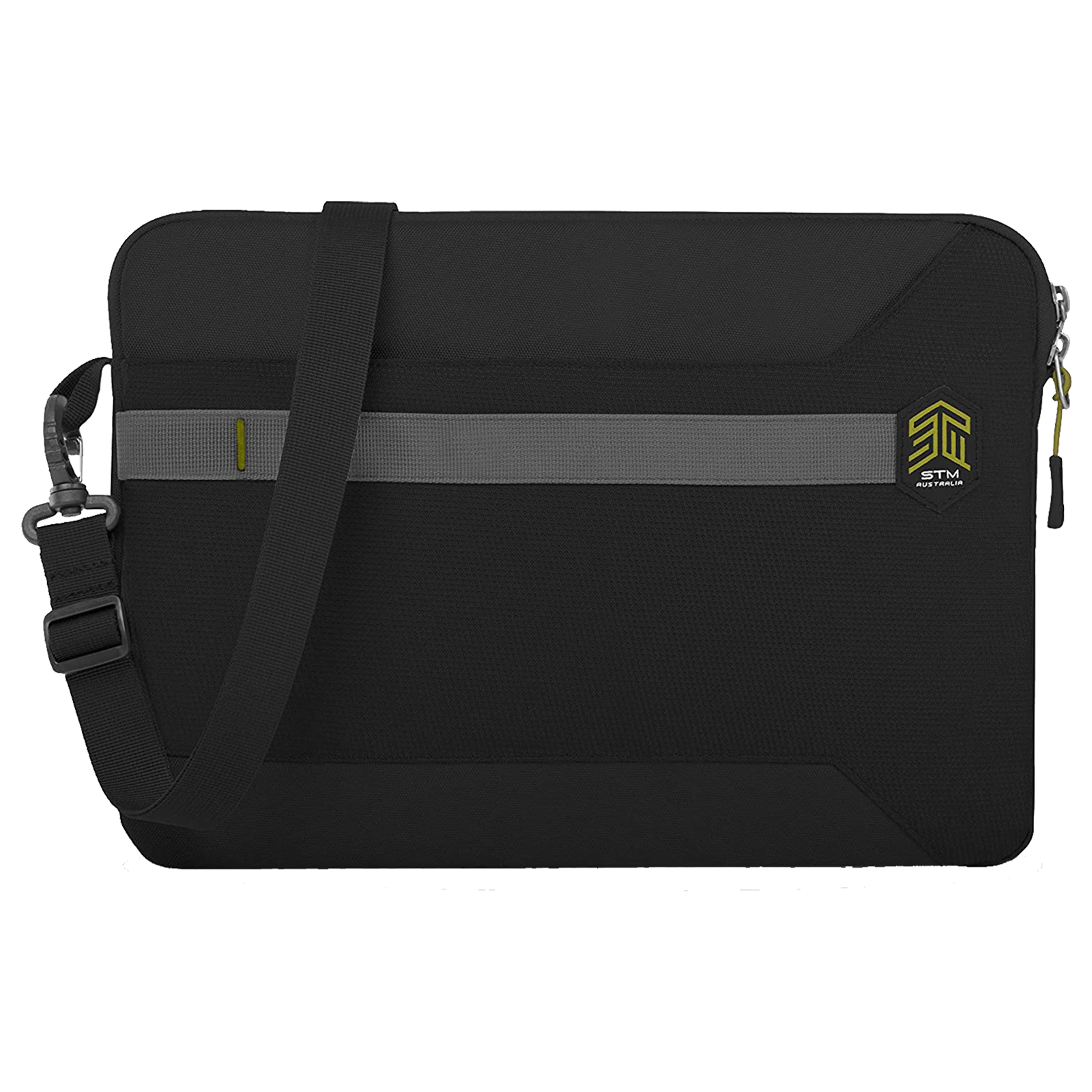 STM Blazer Litres Polyester Sleeve for 15 Inch Laptop (Water Resistant Fabric, STM-114-191P-01, Black)_1