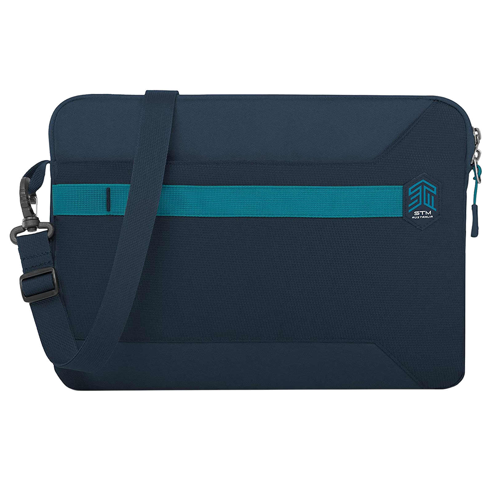 STM Blazer Litres Polyester Sleeve for 15 Inch Laptop (Water Resistant Fabric, STM-114-191P-02, Dark Navy)_1