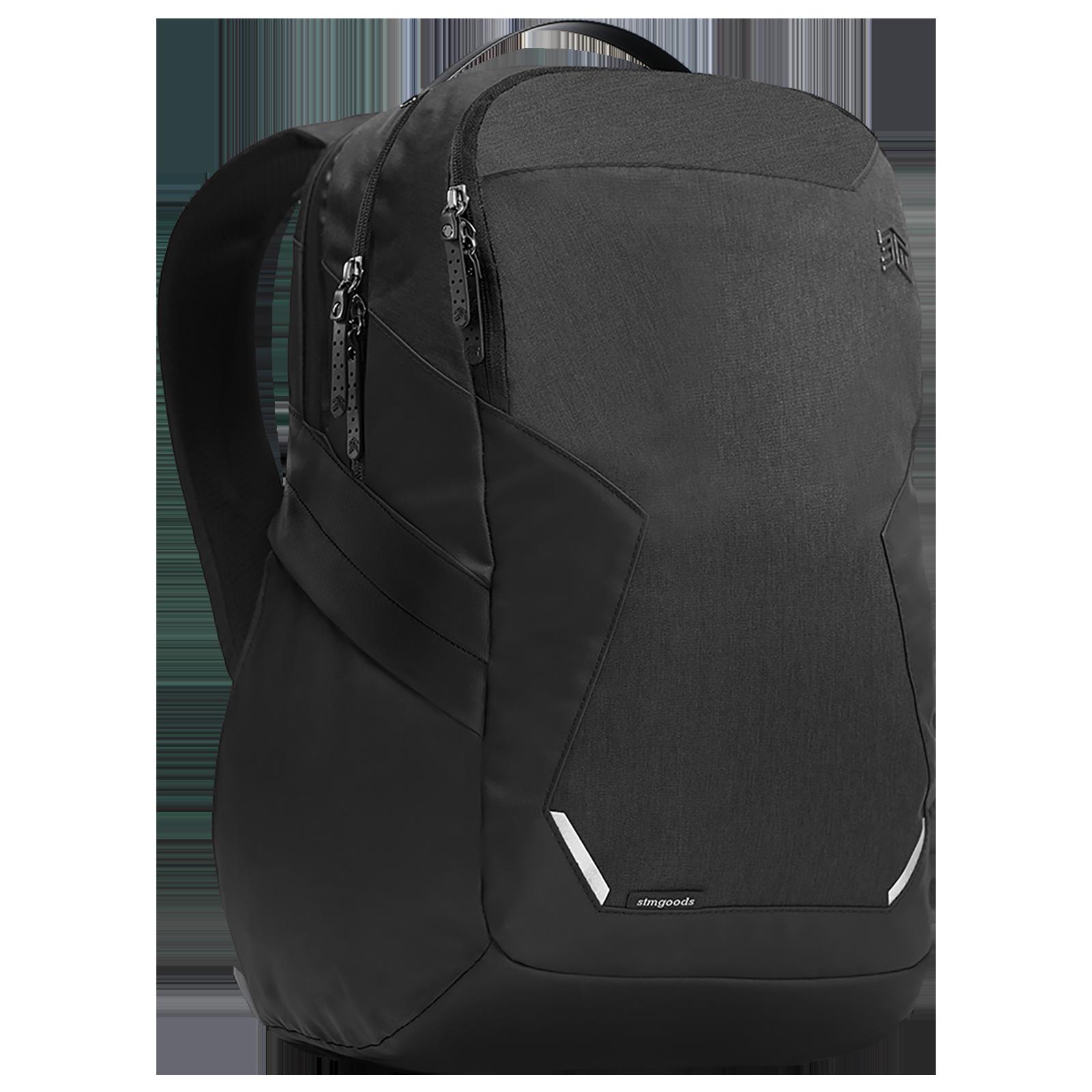 STM Myth 28 Litres Polyester Backpack for 15 Inch Laptop (Water Repellent, STM-117-187P-05, Black)_1
