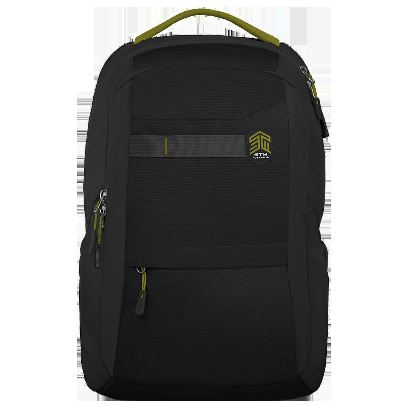 STM Trilogy 24 Litres Polyester Backpack for 15 Inch Laptop (Stash Pocket , STM-111-171P-01, Black)_1