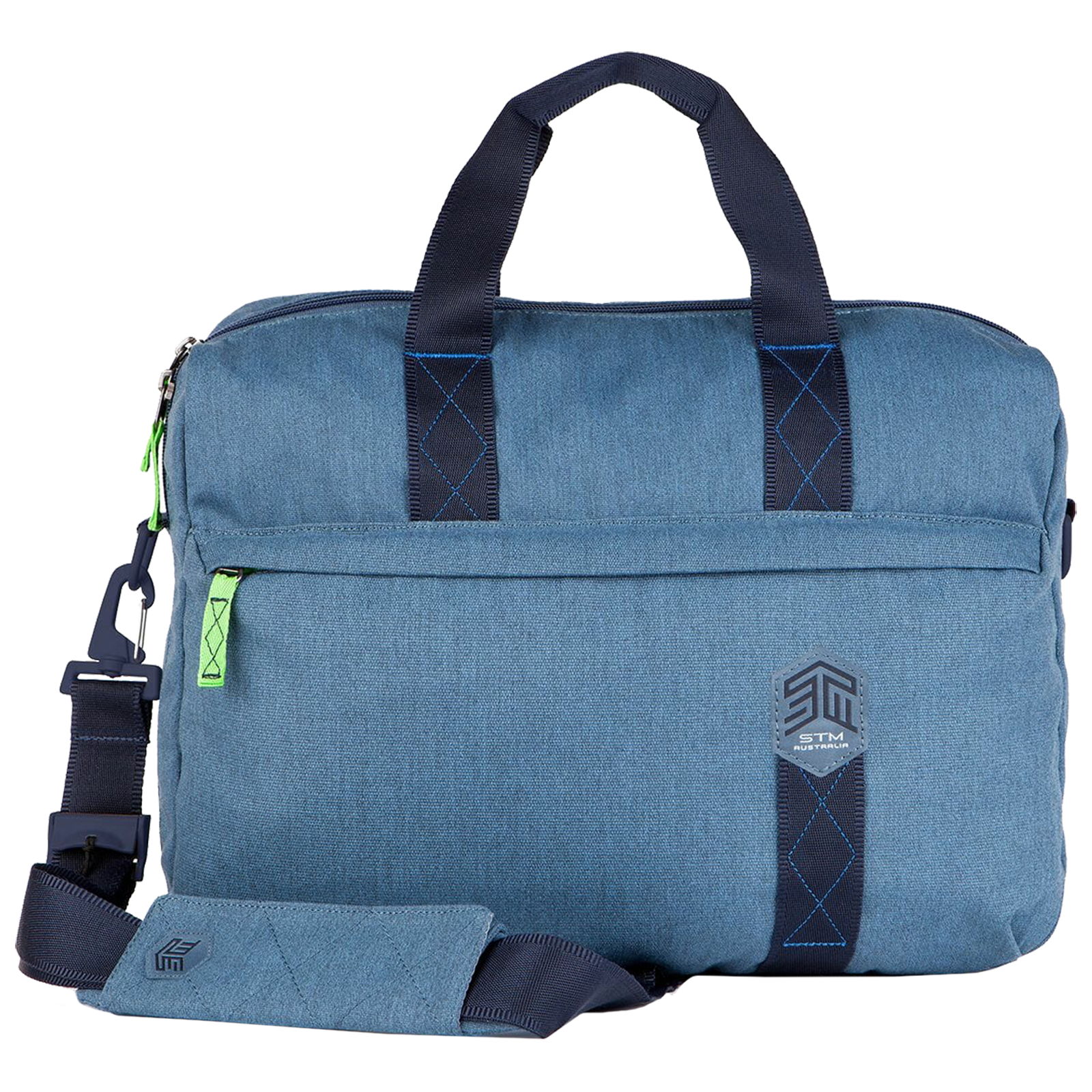 STM Judge Brief 14 Litres Polyester Carry Case for 15 Inch Laptop (Water Resistant, STM-112-147P-16, China Blue)_1