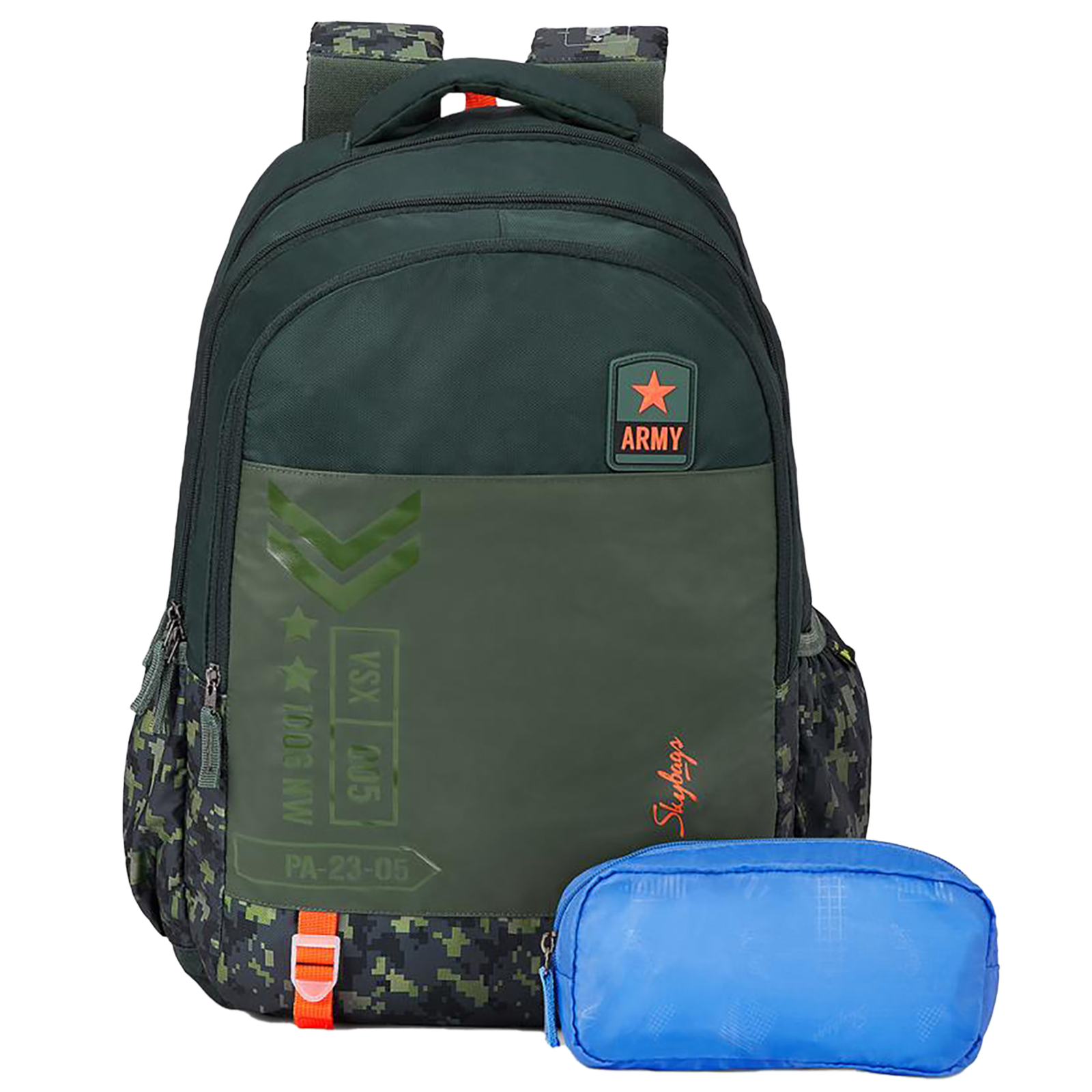 Sky Bags Astro Extra 02 36 Litres Mini Gucci Backpack (Rain Cover, BPASE2ROLV, Olive)_1