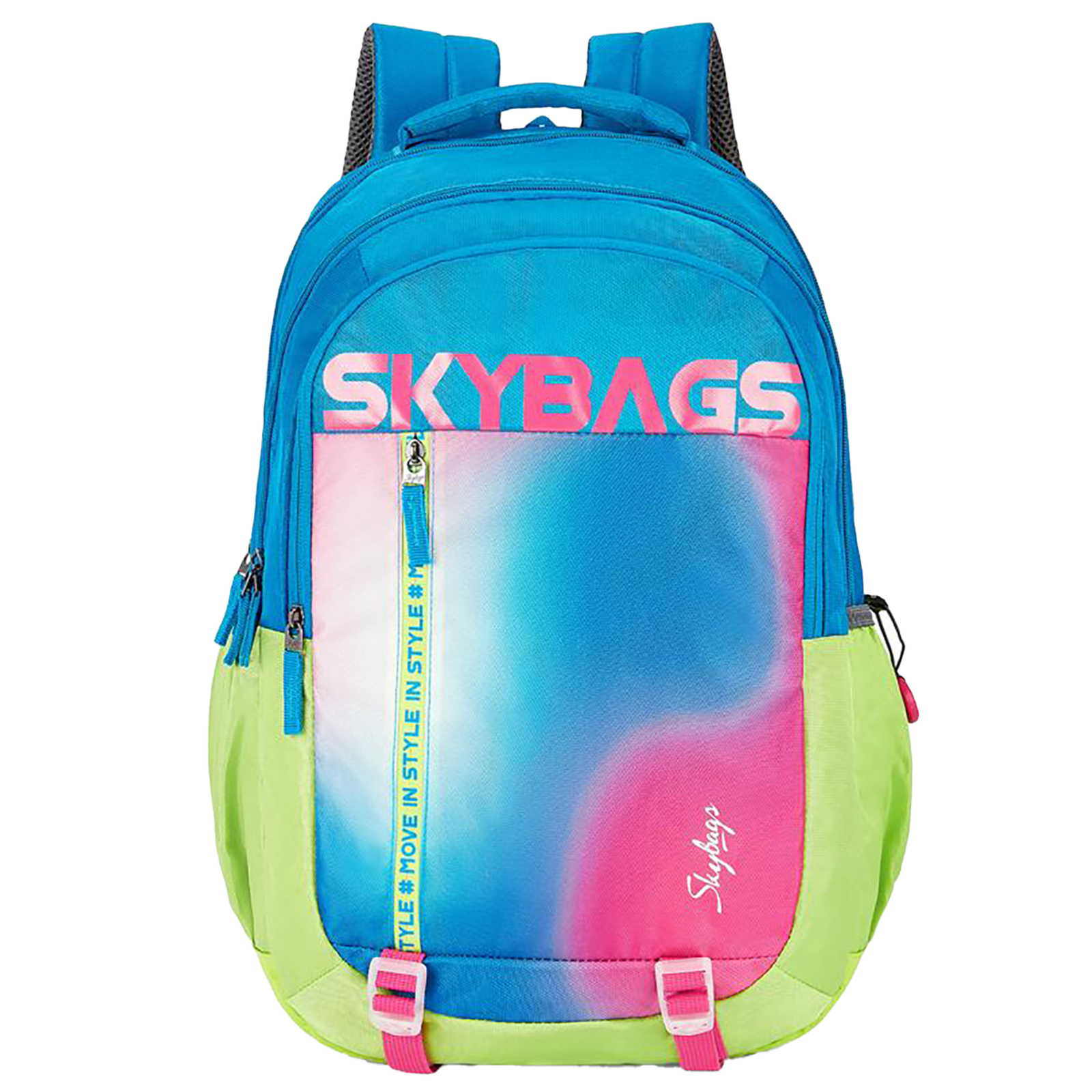 Sky Bags Astro Plus 03 34 Litres Mini Gucci Backpack (Bottle Safety Lock, BPASP3GIT, Multicolor)_1