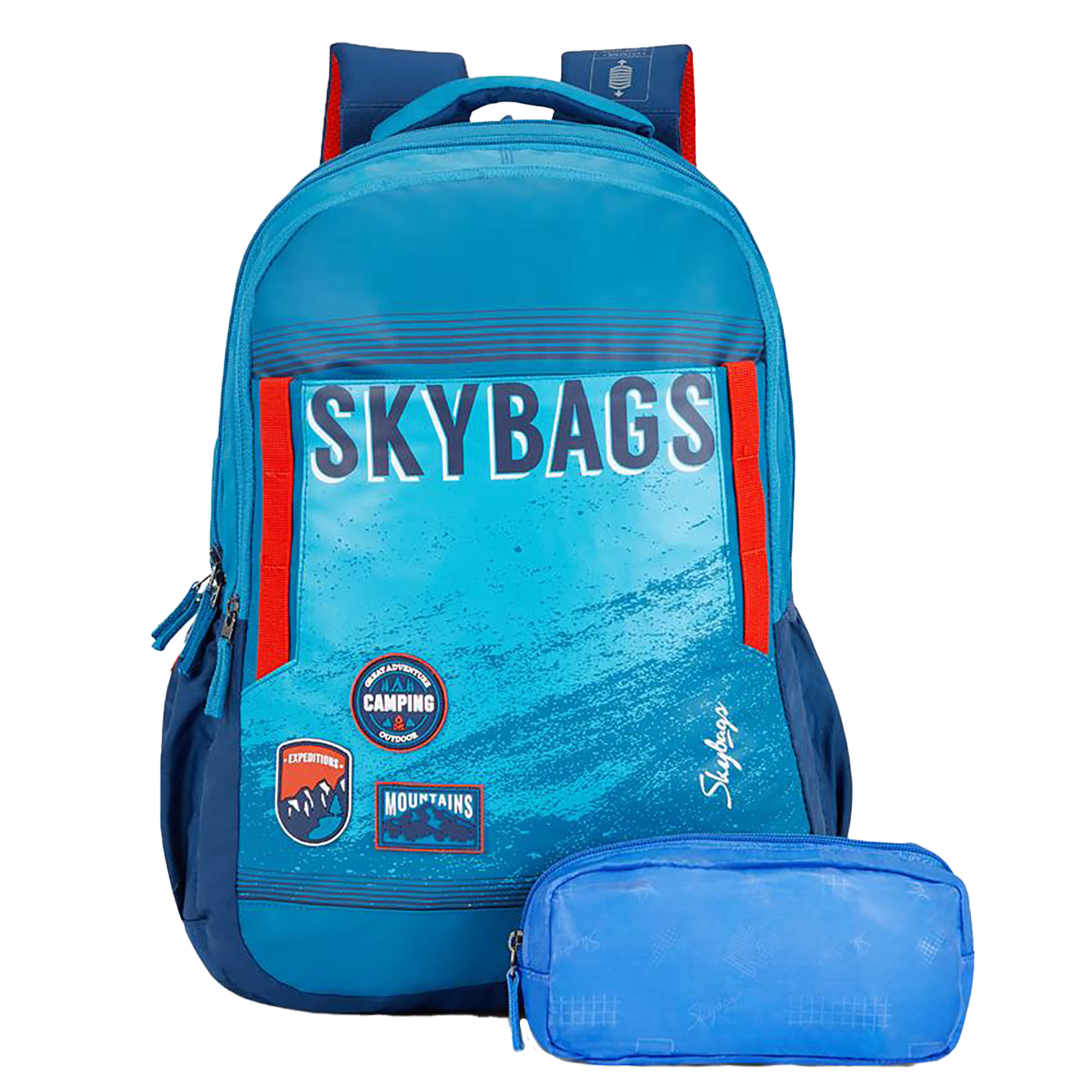 Sky Bags Astro Extra 03 36 Litres Mini Gucci Backpack (Rain Cover, BPASE3RBLU, Blue)_1
