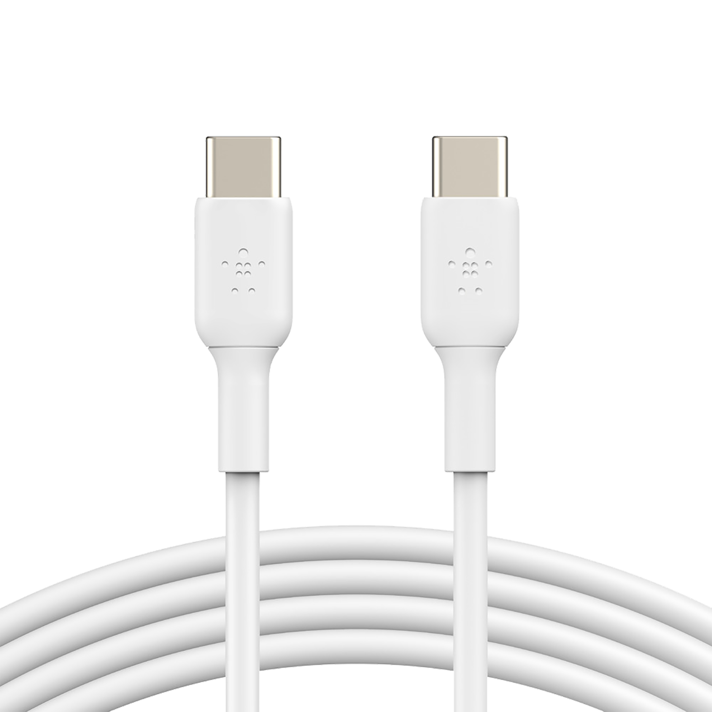 Belkin Boost Charge 1 Meter USB 2.0 (Type-C) to USB 2.0 (Type-C) Power/Charging USB Cable (USB-IF Certified, CAB003bt1MWH, White)_1