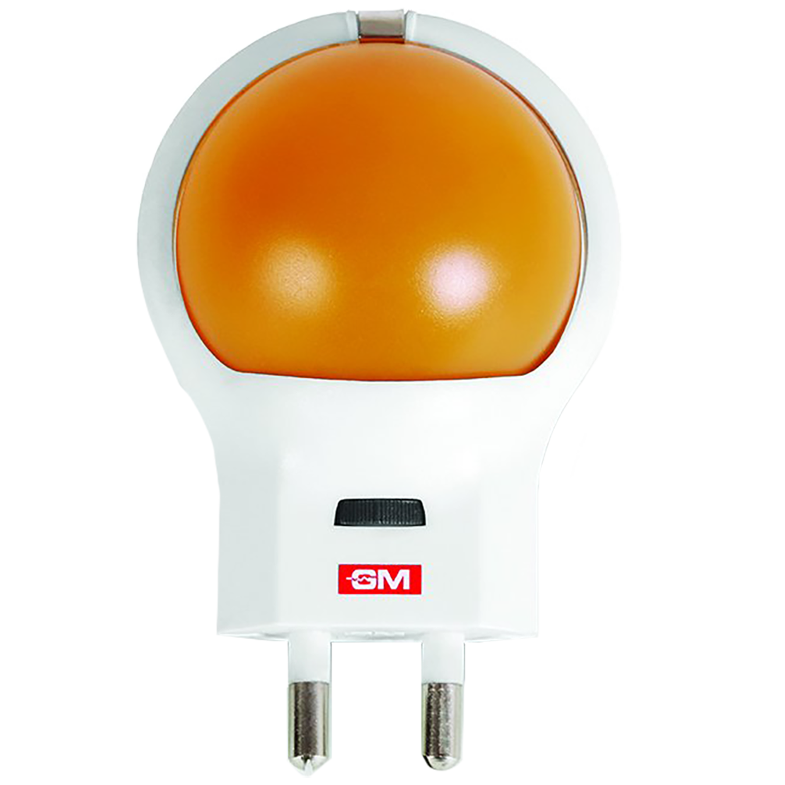 GM Planet-G 0.5 Watts LED Night Lamp (Light Adjustable Scroll Button, 3089, Orange/White)_1
