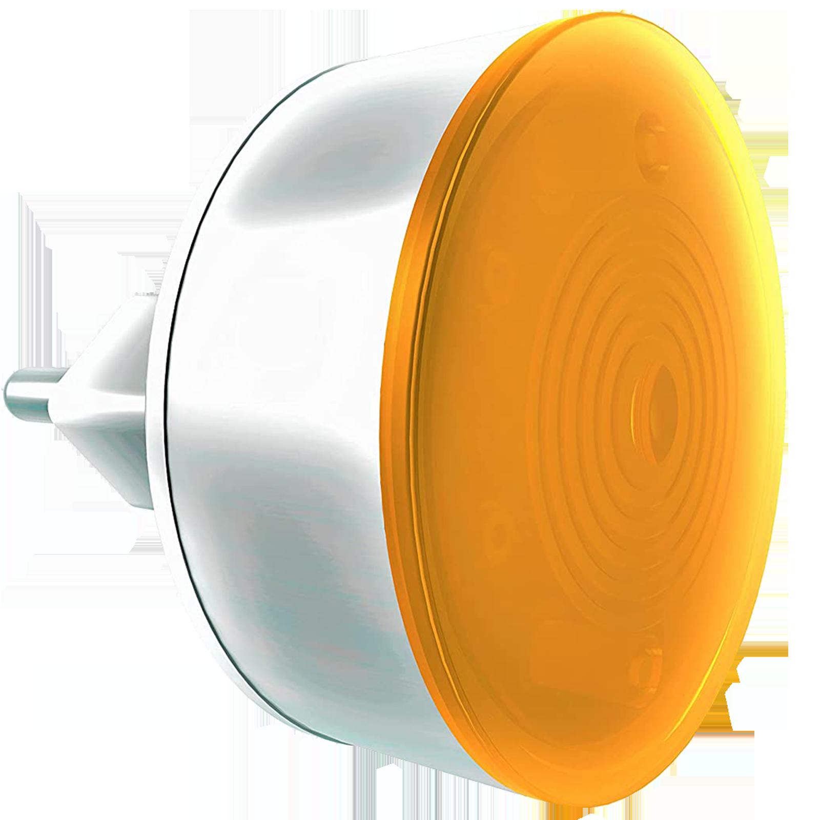 GM Xoom 0.5 Watts LED Night Lamp (Emits Diffused Glow, 3031, Orange/White)_1