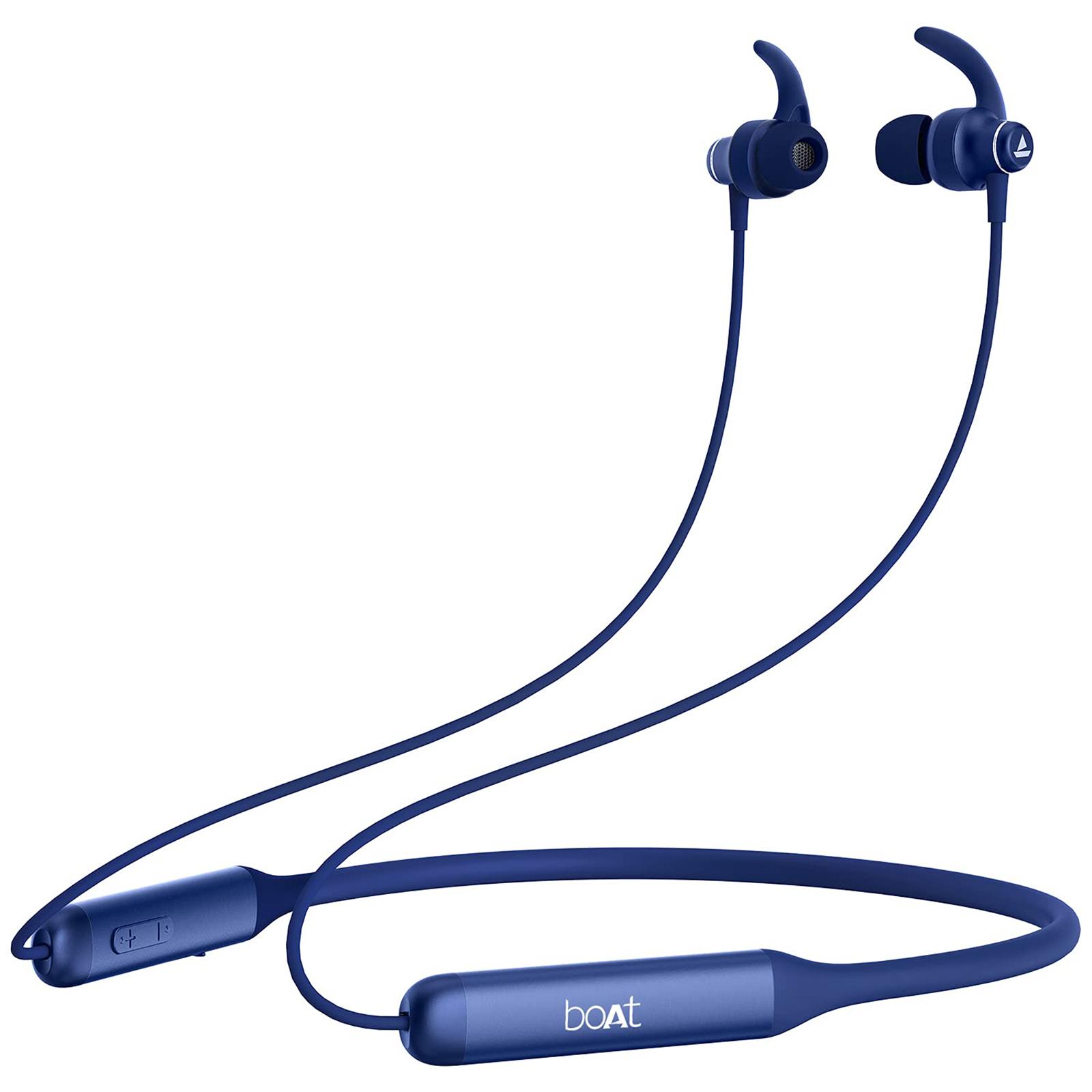 boAt In-Ear Wireless Earphone with Mic (Bluetooth 5.0, Rockerz 338, Navy Blue)_1