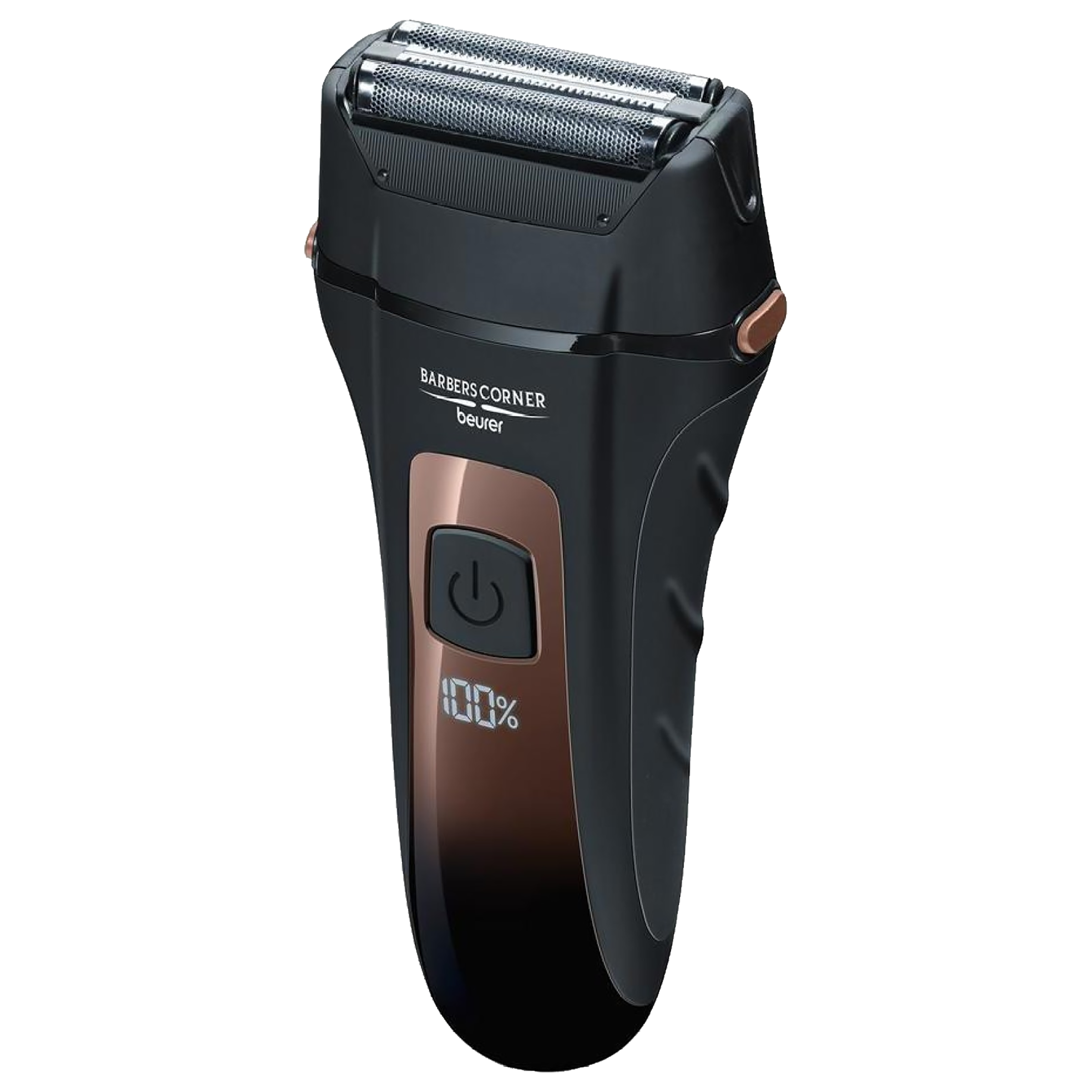 Beurer Stainless Steel Blades Cordless Operation Dry Shaver (Integrated Quick-Charge Function, HR 7000, Black)_1