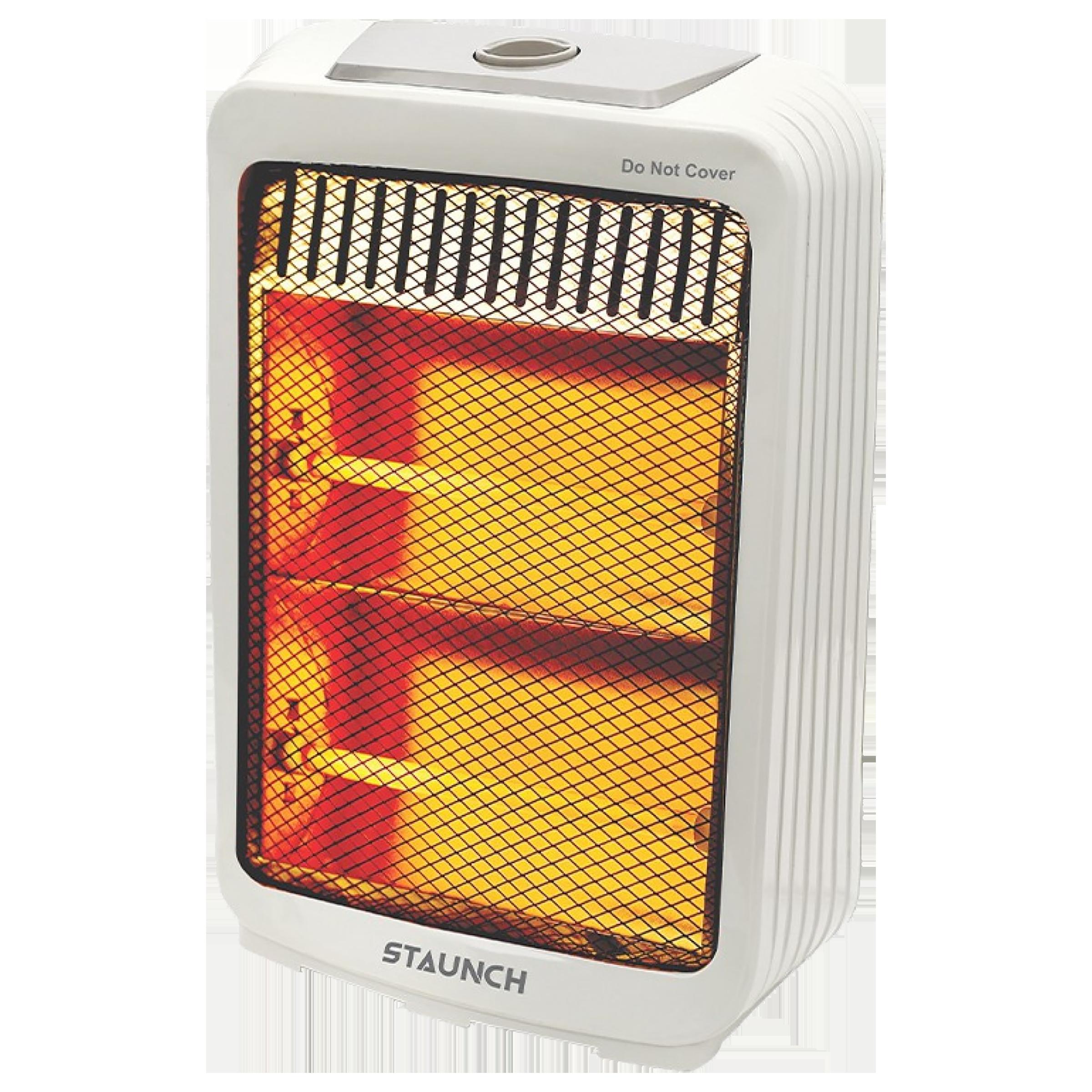 Staunch SH-103 800 Watts Halogen Heater (Overheating Protection, White)_1