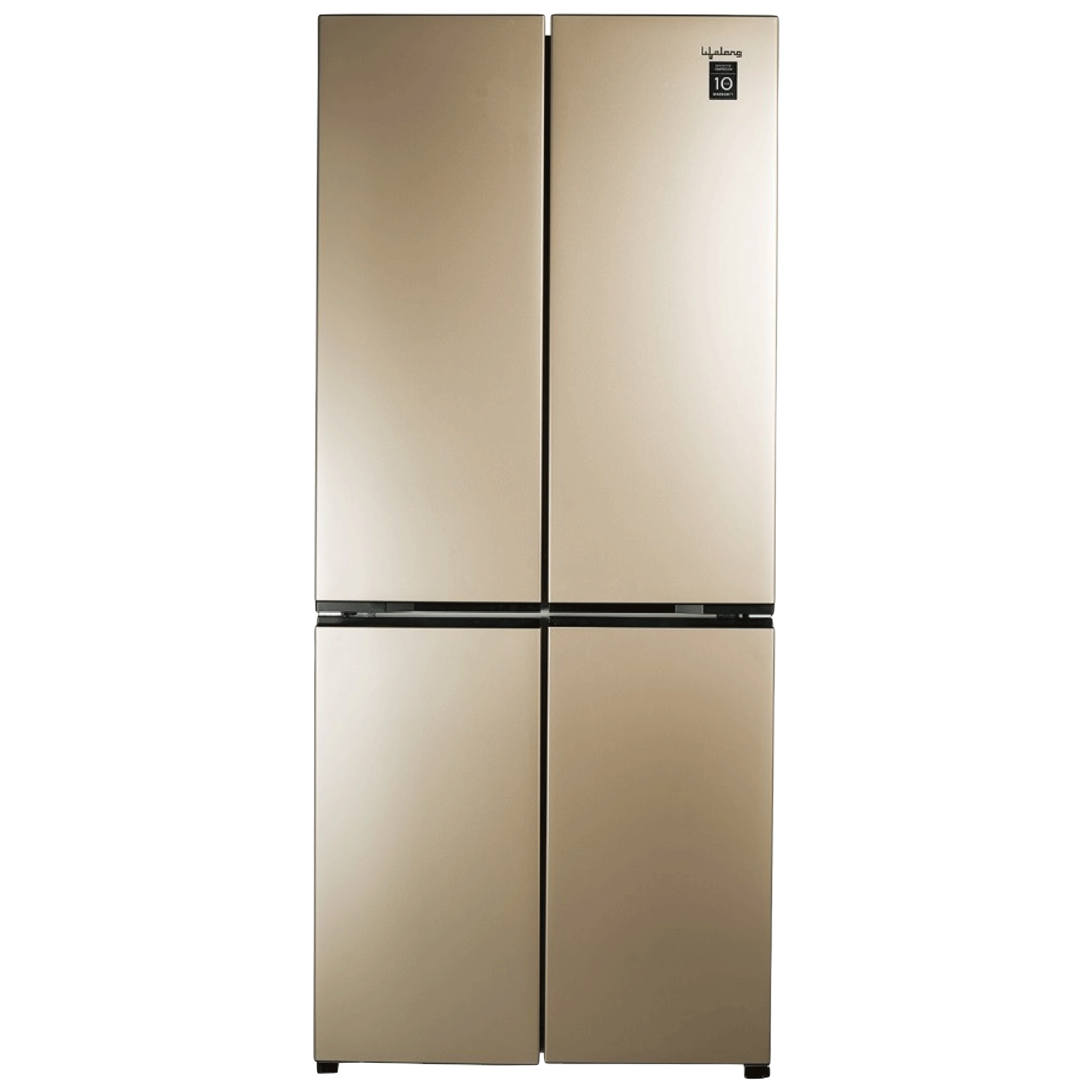Lifelong 500 Litres Frost Free Inverter Side-by-Side Refrigerator (Quick Freeze, LL4DR500RG, Rose Gold)_1