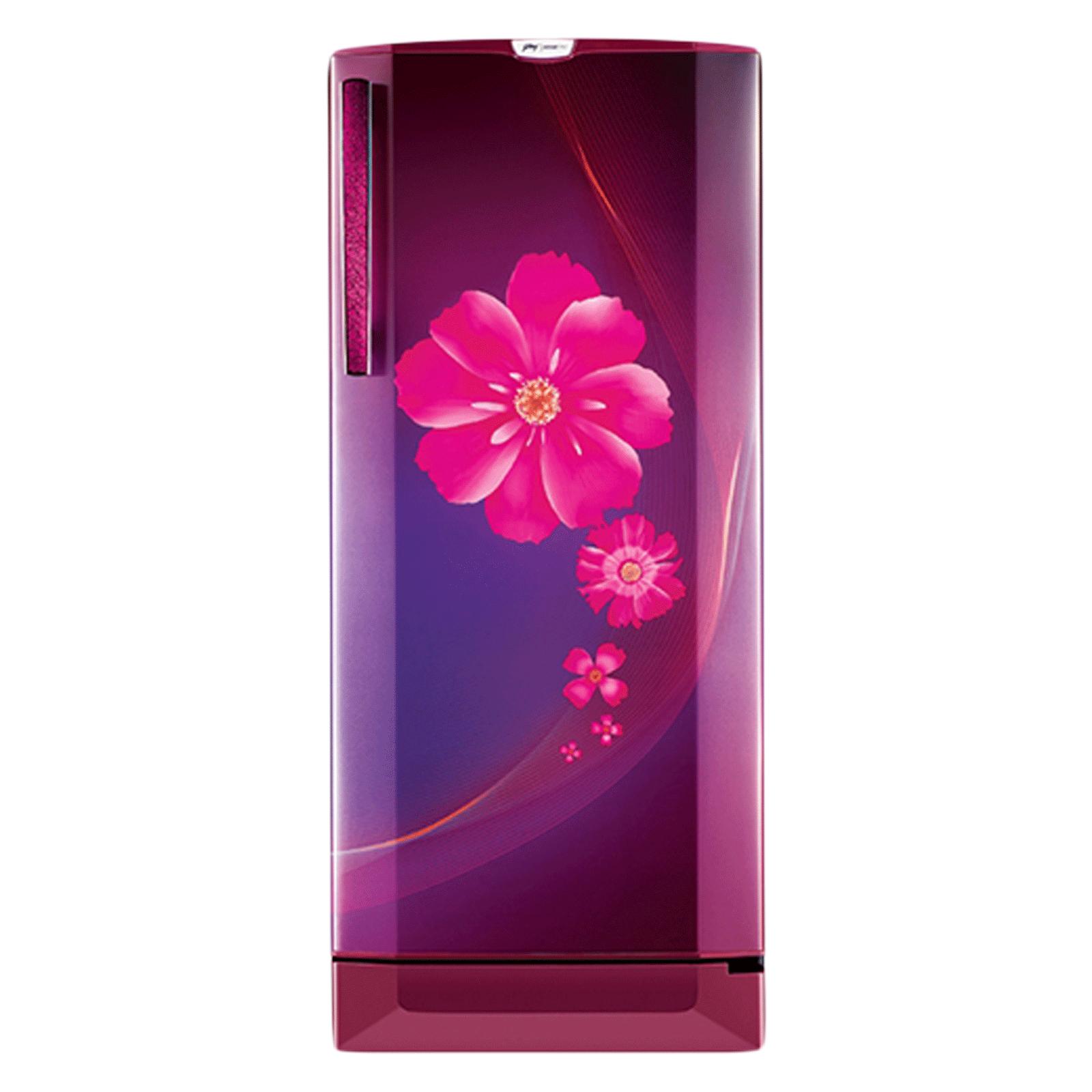 Godrej 240 Litres 3 Star Direct Cool Inverter Single Door Refrigerator (Toughened Glass Shelves, RD Edge Pro 255C 33 TAI RY WN, Ray Wine)_1