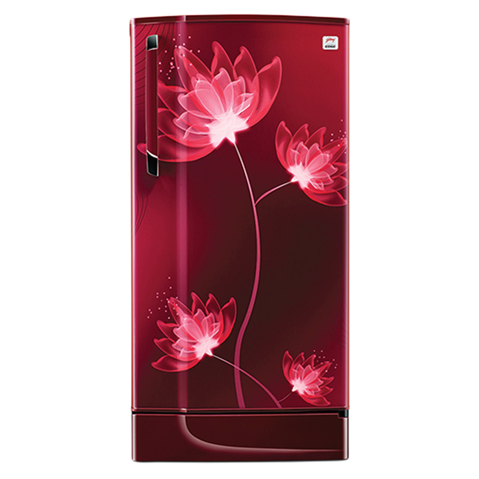 Godrej 221 Litres 3 Star Direct Cool Single Door Refrigerator (Large Vegetable Tray, RD Edge SX 236C 33 TAI GL WN, Glass Wine)_1