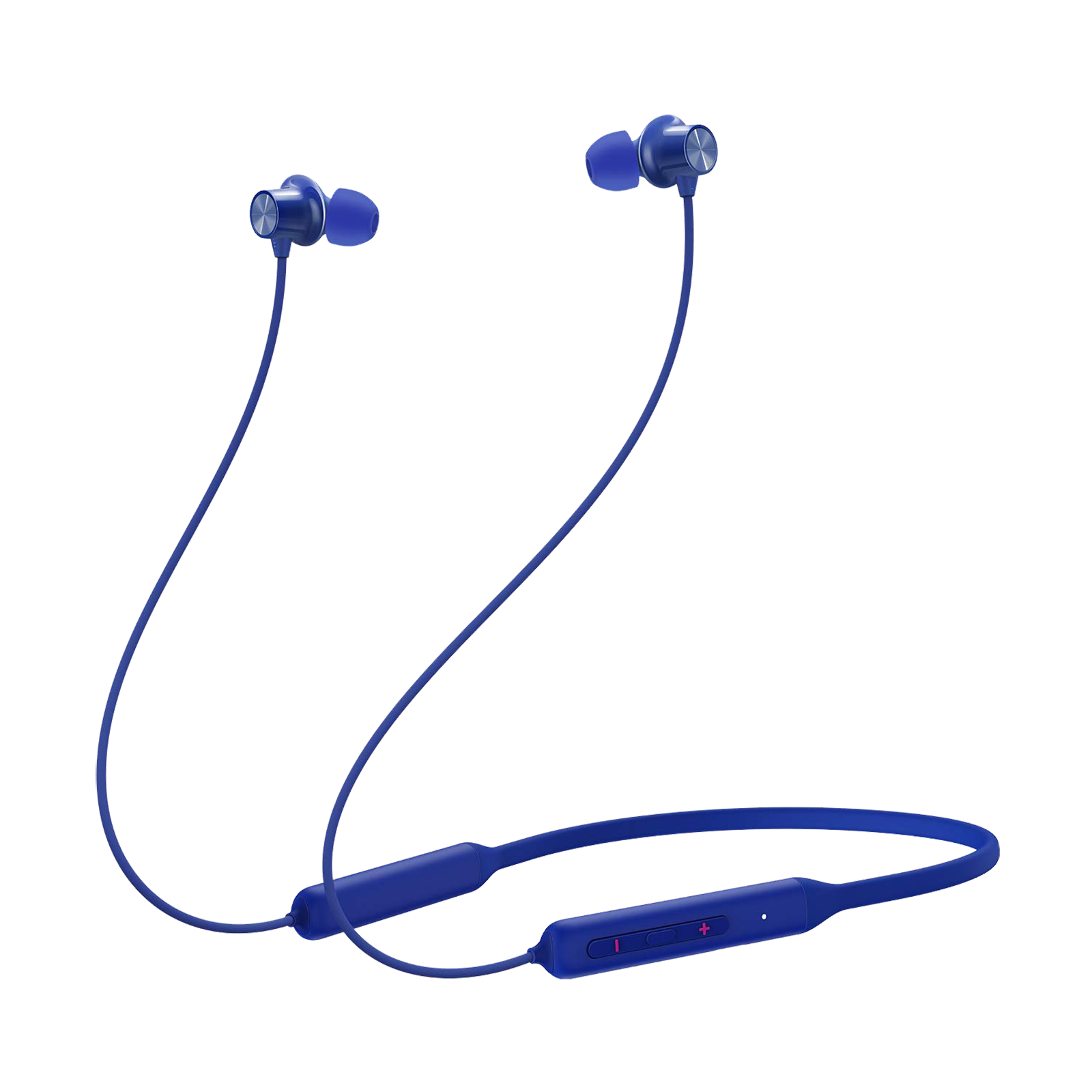 OnePlus Bullets Wireless Z Bass Edition In-Ear Passive Noise Cancellation Wireless Earphone with Mic (Bluetooth 5.0, Warp Charge, 5481100055, Bass Blue)