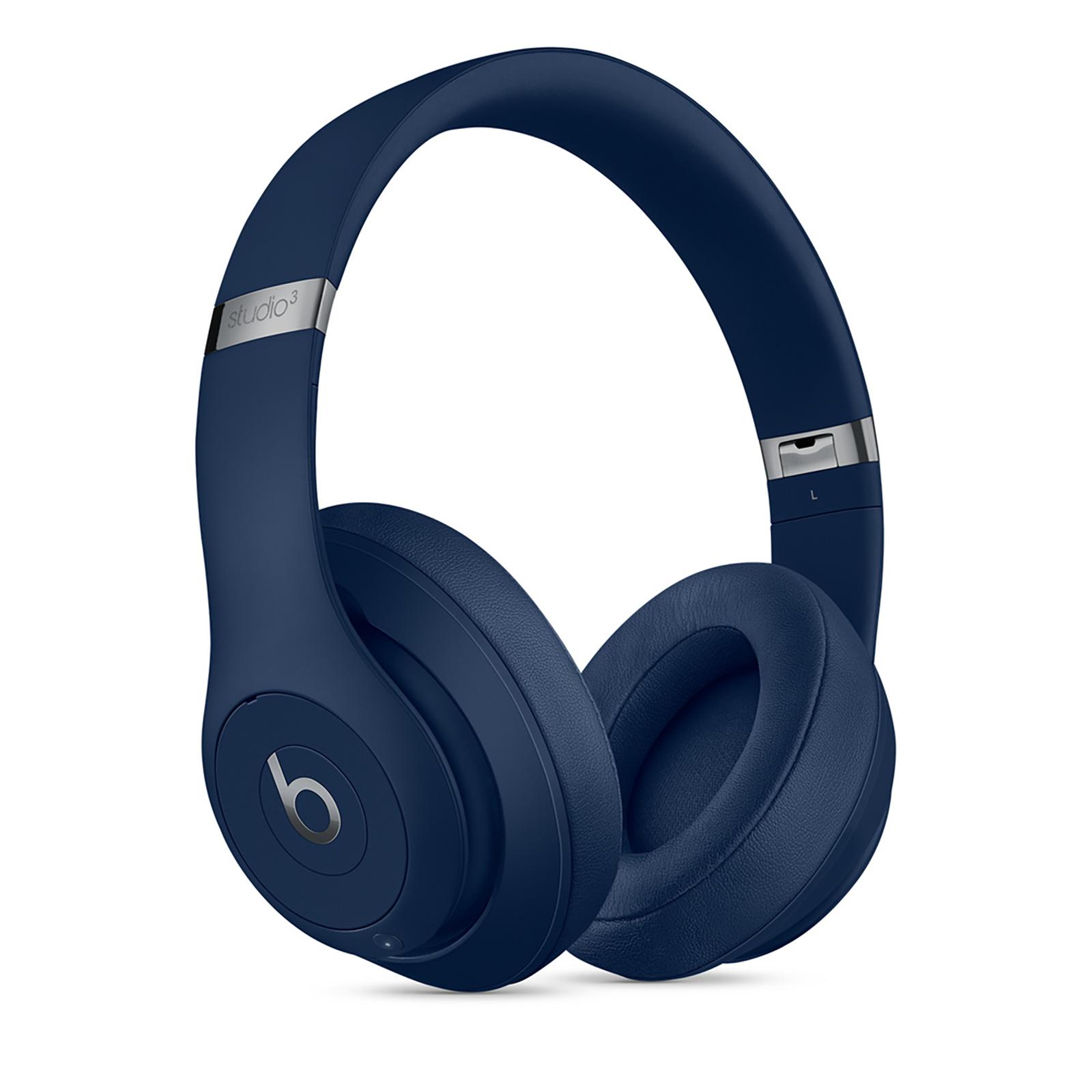 Beats Studio 3 Over-Ear Wireless Headphone with Mic (Bluetooth, MX402ZM/A, Blue)_1