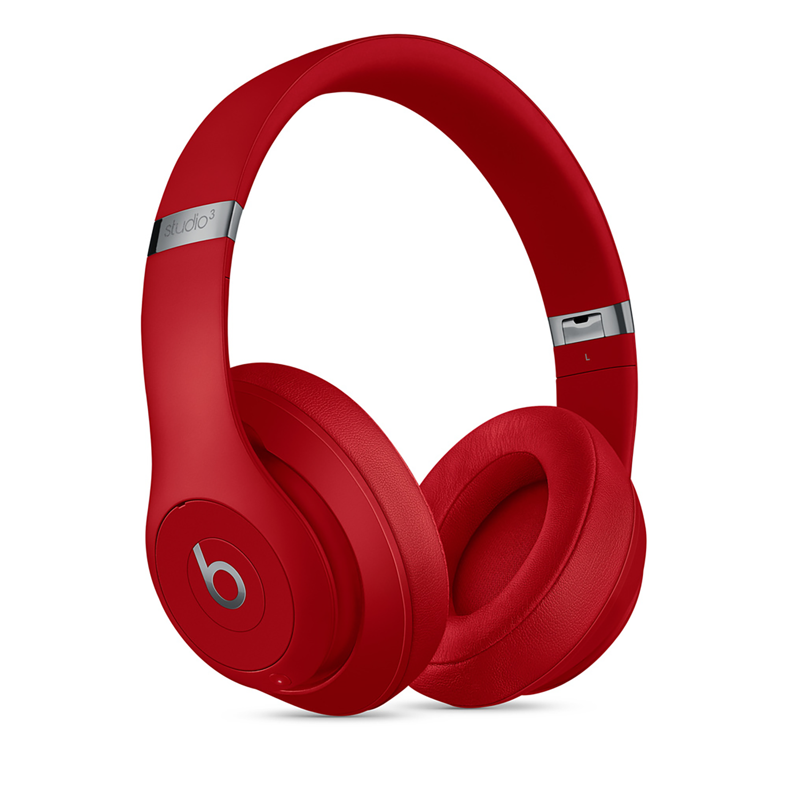 Beats Studio 3 Over-Ear Wireless Headphone with Mic (Bluetooth, MX412ZM/A, Red)_1