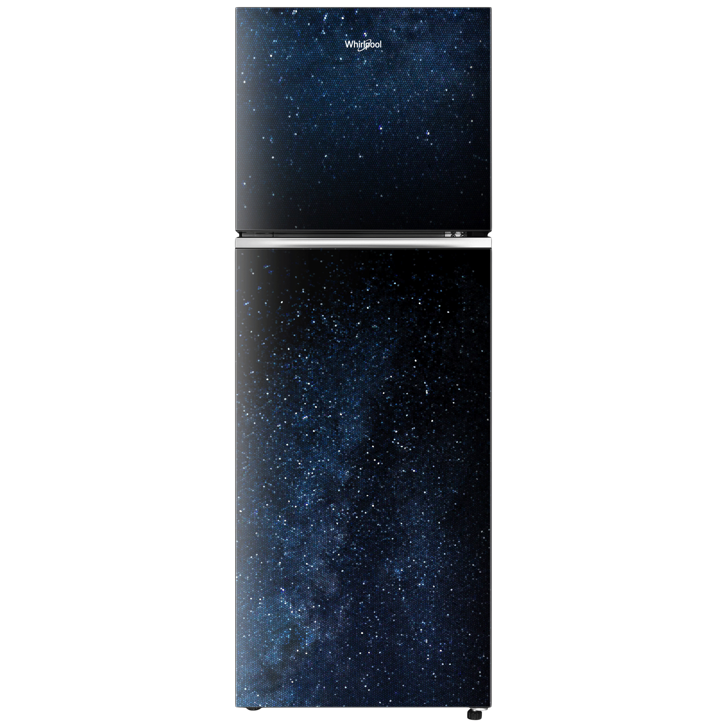 Whirlpool Neofresh 265 Litres 2 Star Frost Free Double Door Refrigerator (Stabilizer Free Operation, Pattern Glass)_1