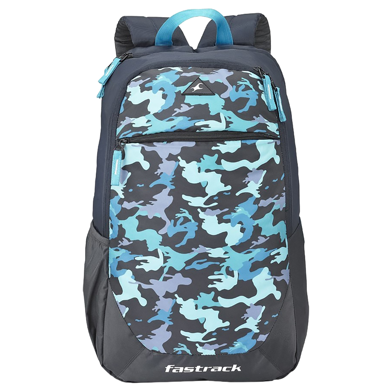 Fastrack Freerail Ergolight 30 Litres Polyester Backpack (Back Padding, A0793NBL02, Blue)_1