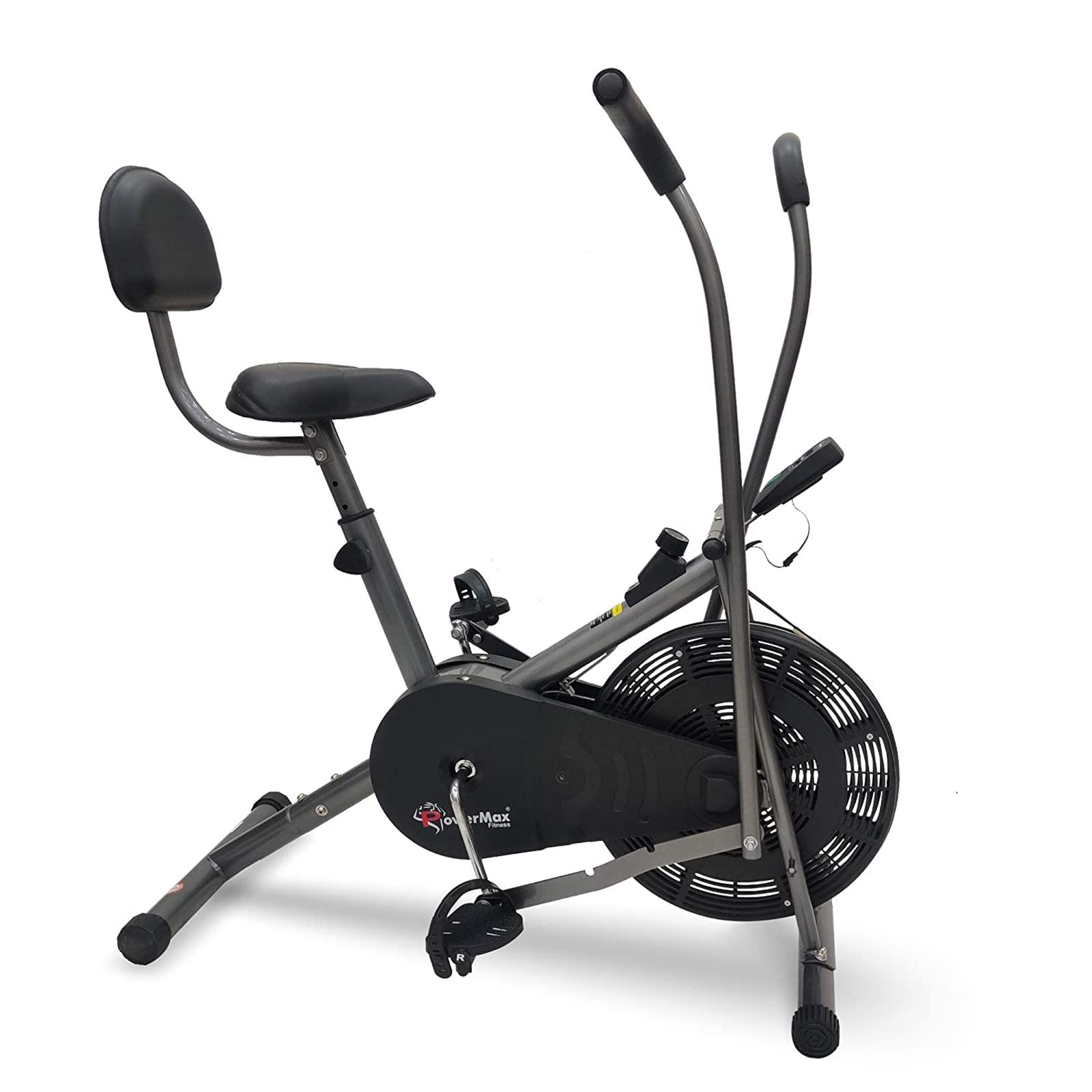 Powermax Air Bike (LCD Display, BU-201, Black)_1