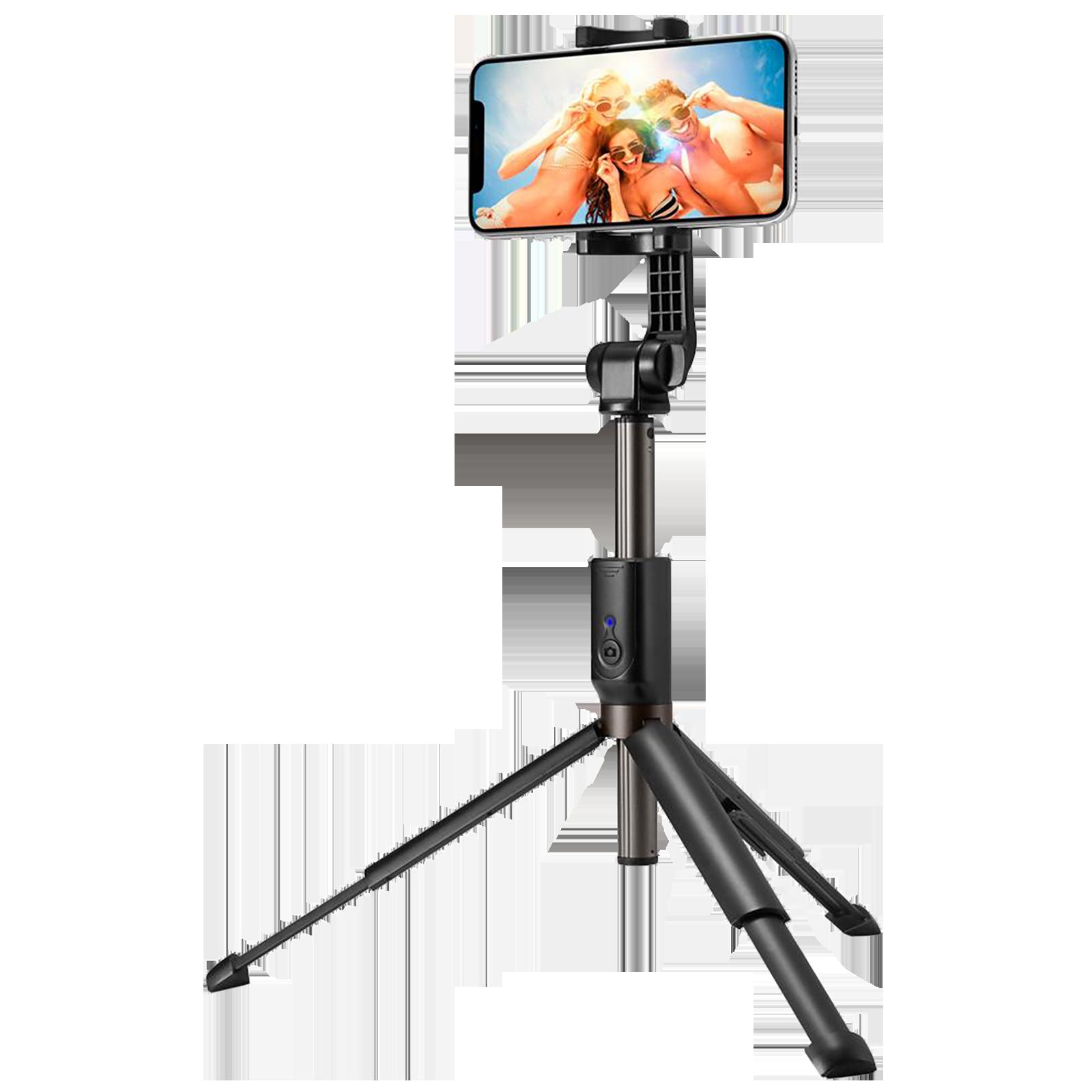 Spigen S540W Selfie Stick with Tripod (Bluetooth Wireless Technology, 000SS24111, Black)_1