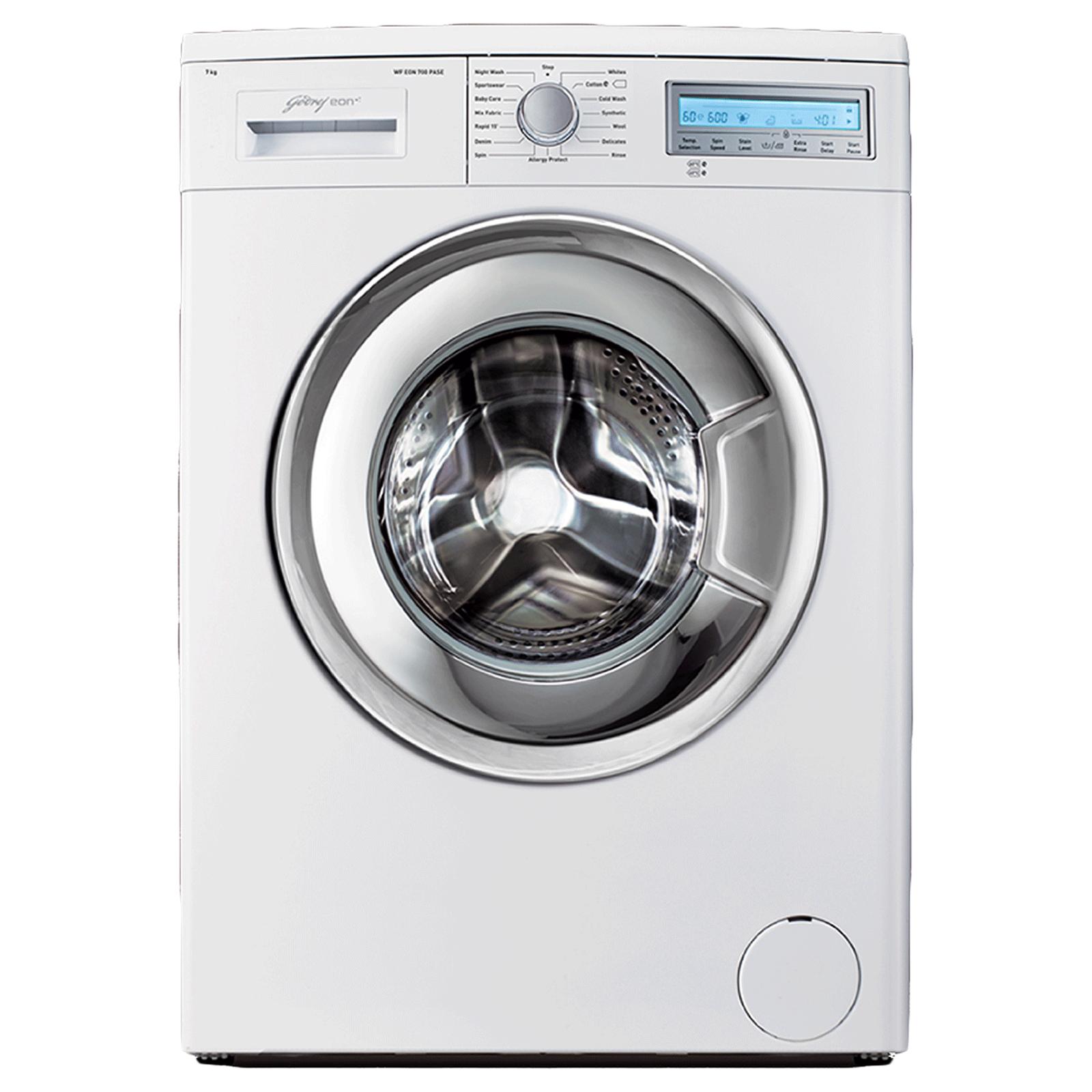 Godrej Eon 7 kg 5 Star Fully Automatic Front Load Washing Machine (Eco-Balance System, WF EON 700 PASE, White)_1