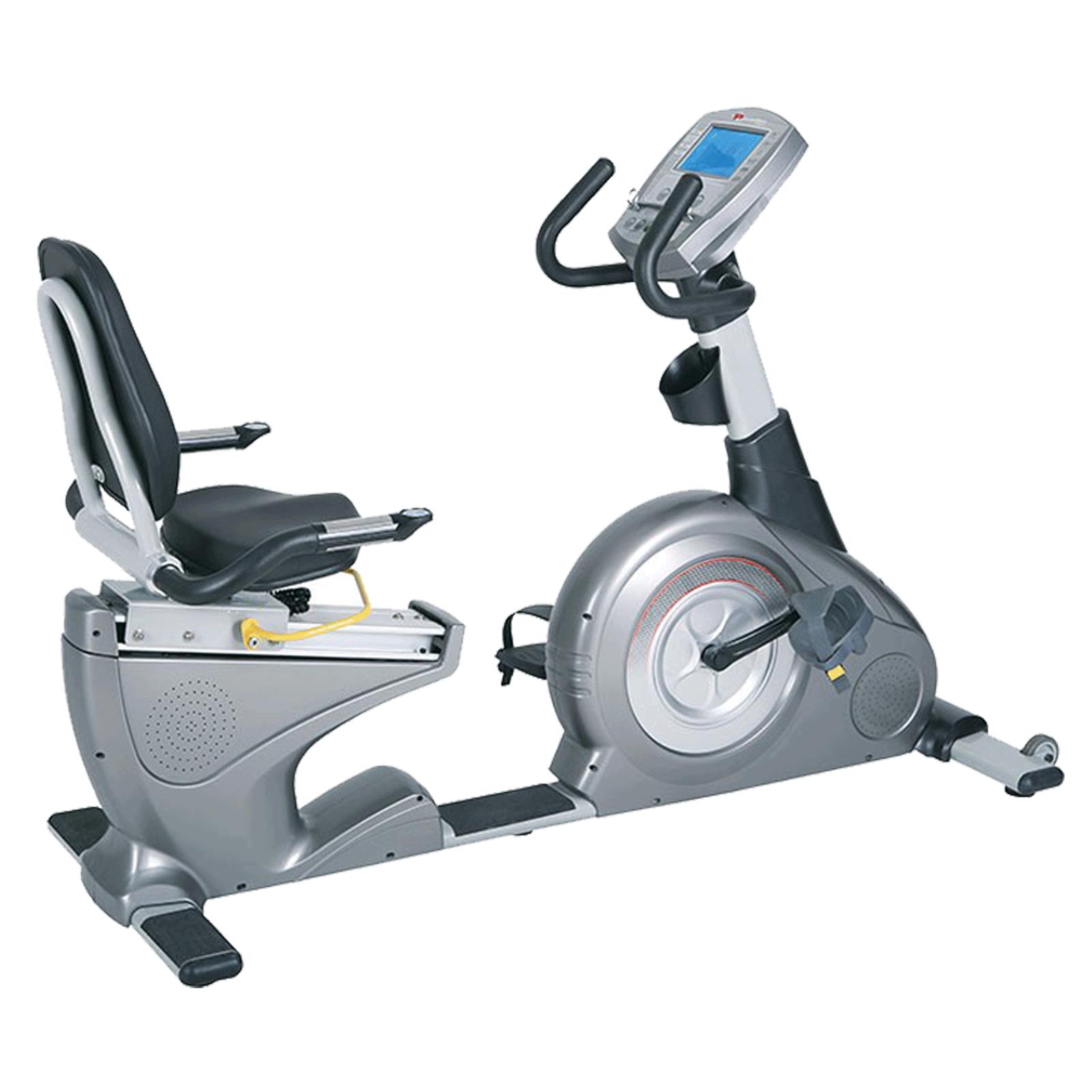 Powermax Fitness Cycle (Color LCD Display, BR-2000C, Grey)_1