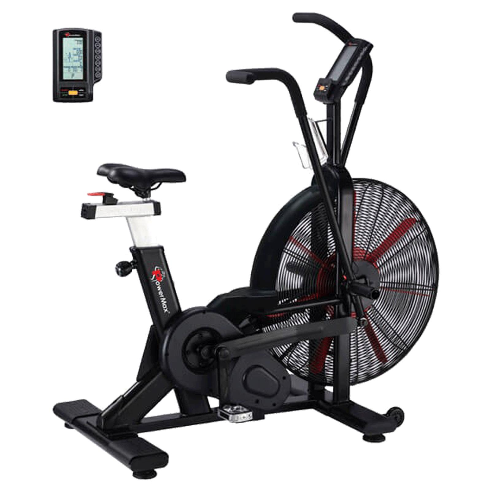Powermax Air Bike (Dual transmission system, BA-2500C, Black)_1