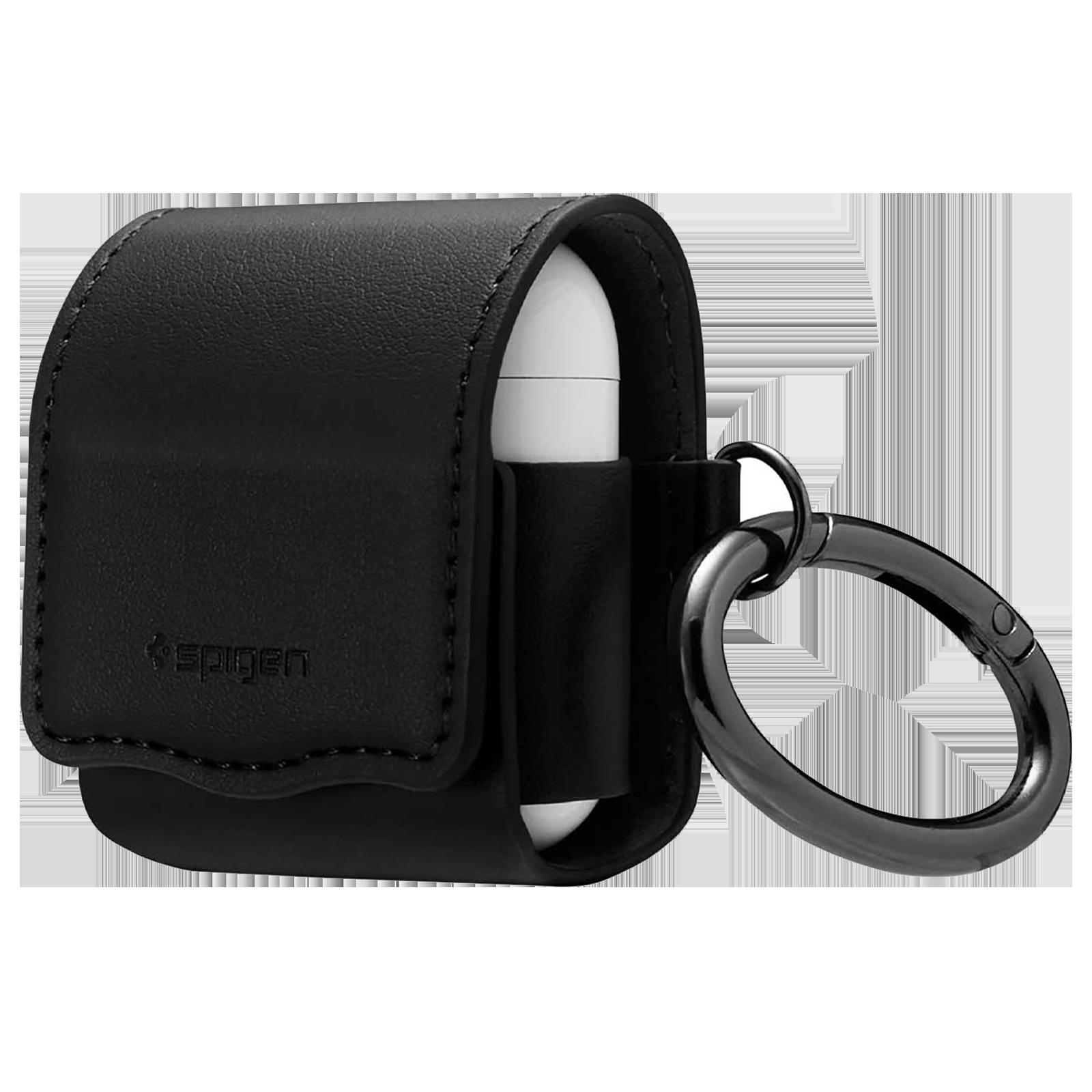Spigen Valentinus Full Cover Case (For Airpods 1/Airpods 2, 074CS26413, Black)_1