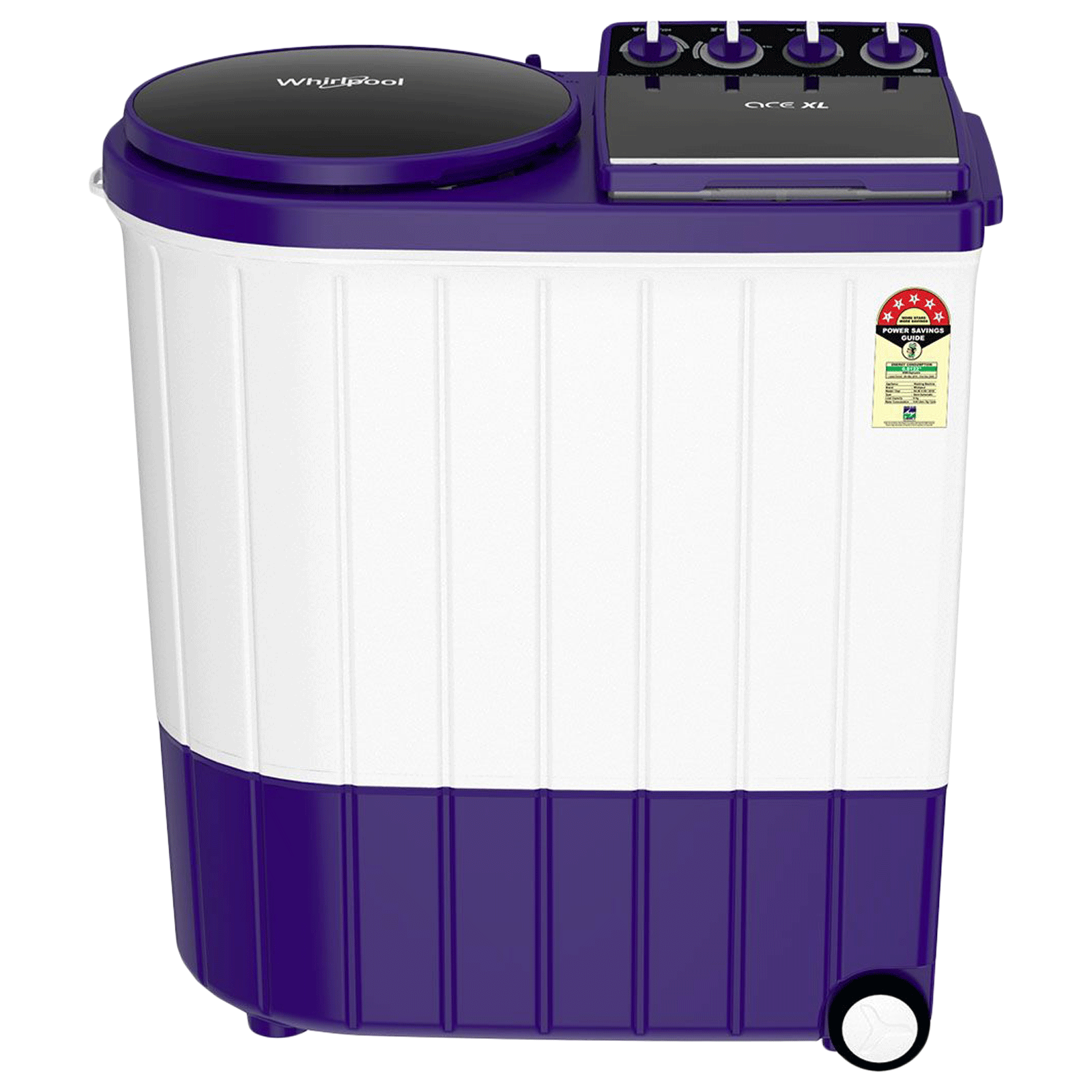 Whirlpool Ace Xl 9 kg 5 Star Semi-Automatic Top Load Washing Machine (Impeller Wash Technology, Royal Purple)_1