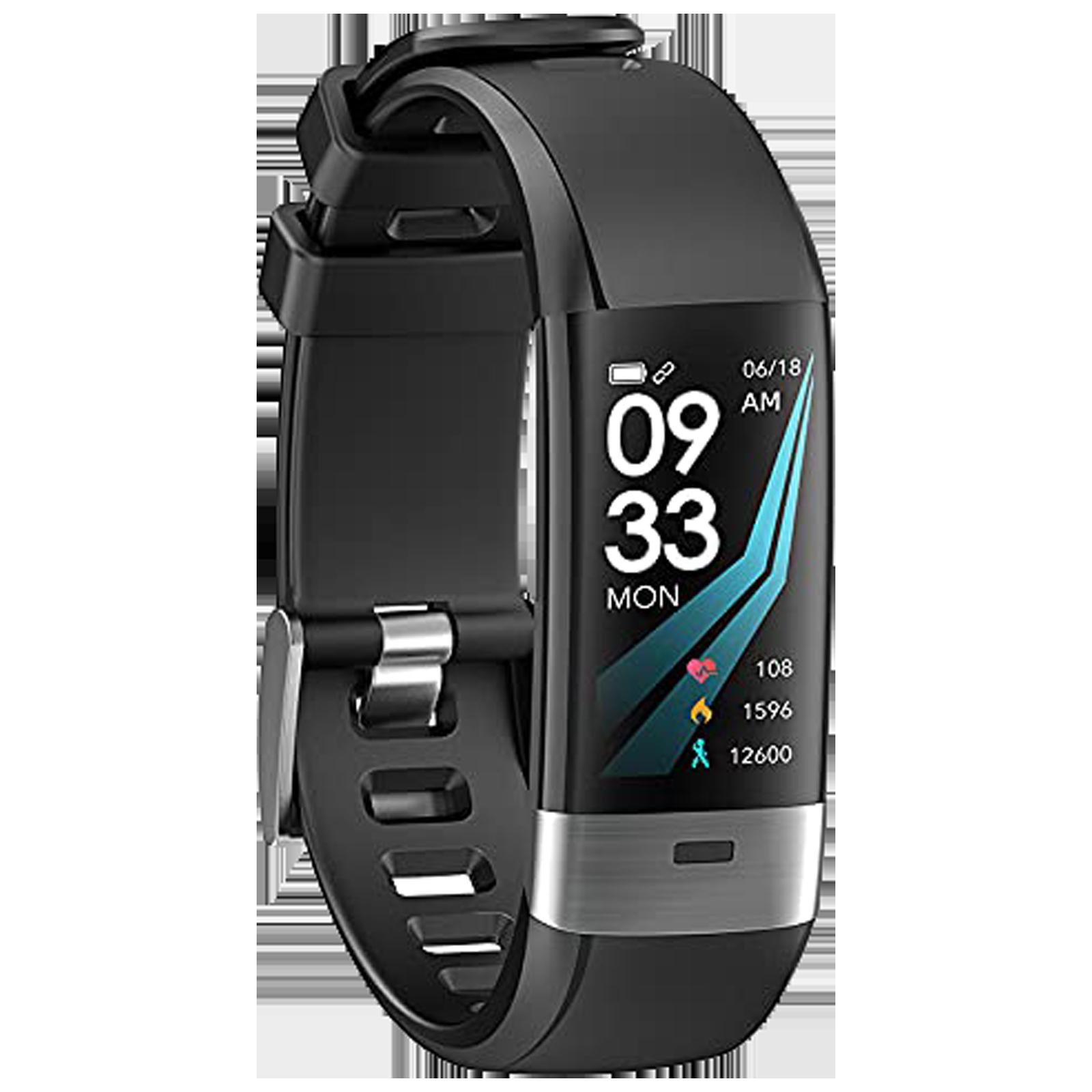 eOnz North Edge Balance 36 Smart Band (24.38mm) (Heart Rate Monitoring, Black, TPU Band)_1