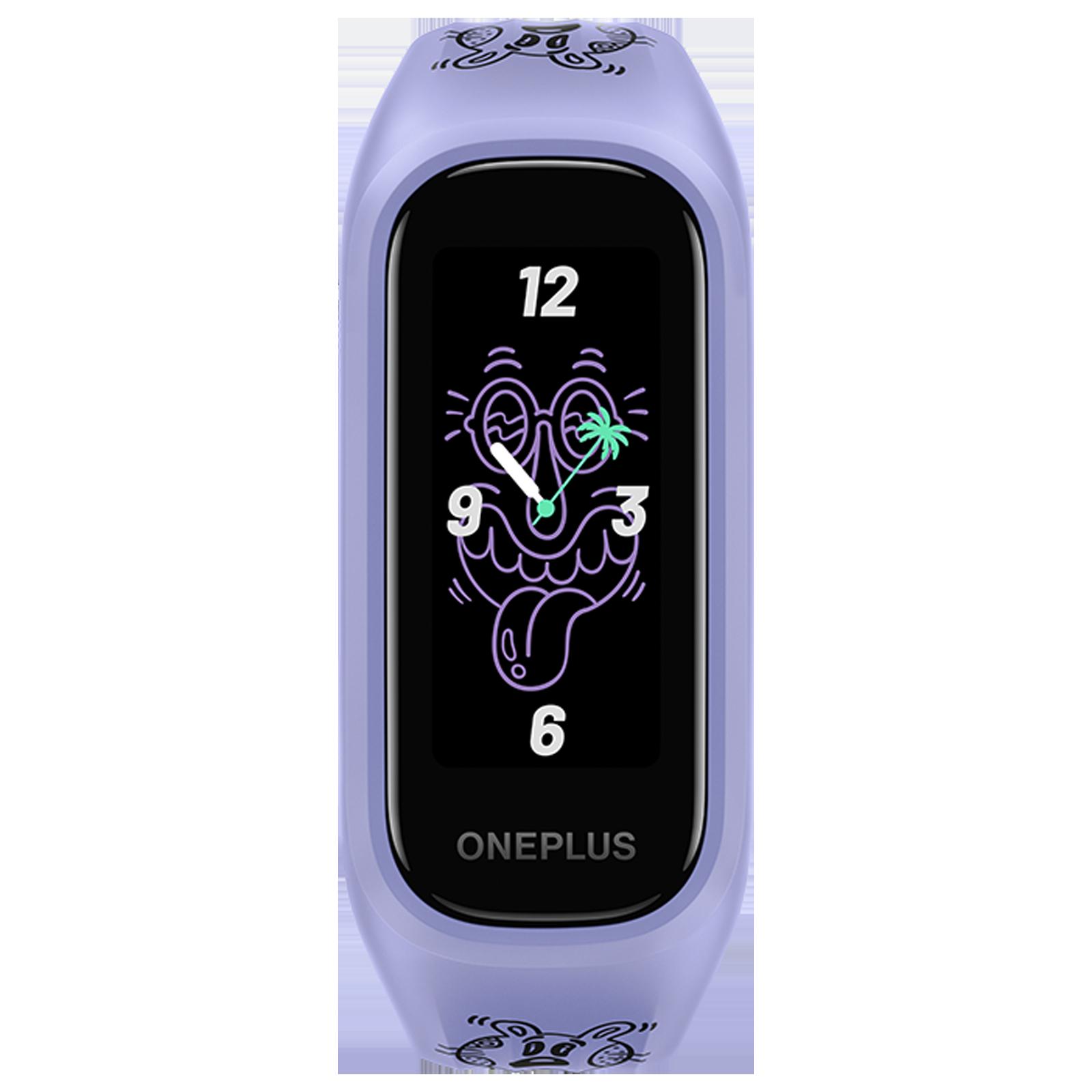OnePlus Steven Harrington Edition Smart Band (27.9 mm) (SPO2 Monitoring, W101N, Black/Multicolor, TPU Band)_1