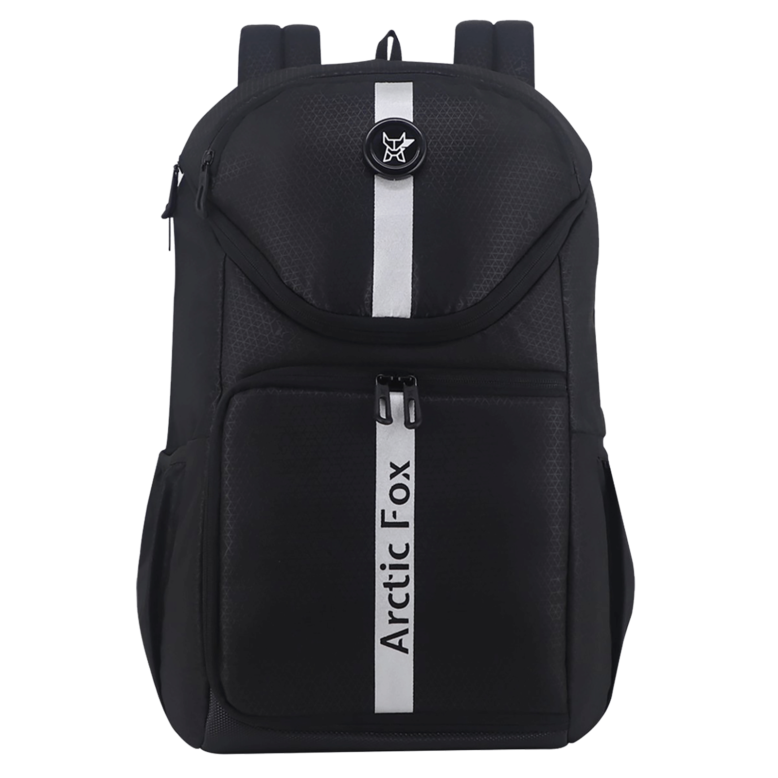Arctic Fox Flash Polyester PU Coated Camera Backpack for Camera (15.5 Inch Laptop Compatible, FEXCMBJTBON198026, Jet Black)_1
