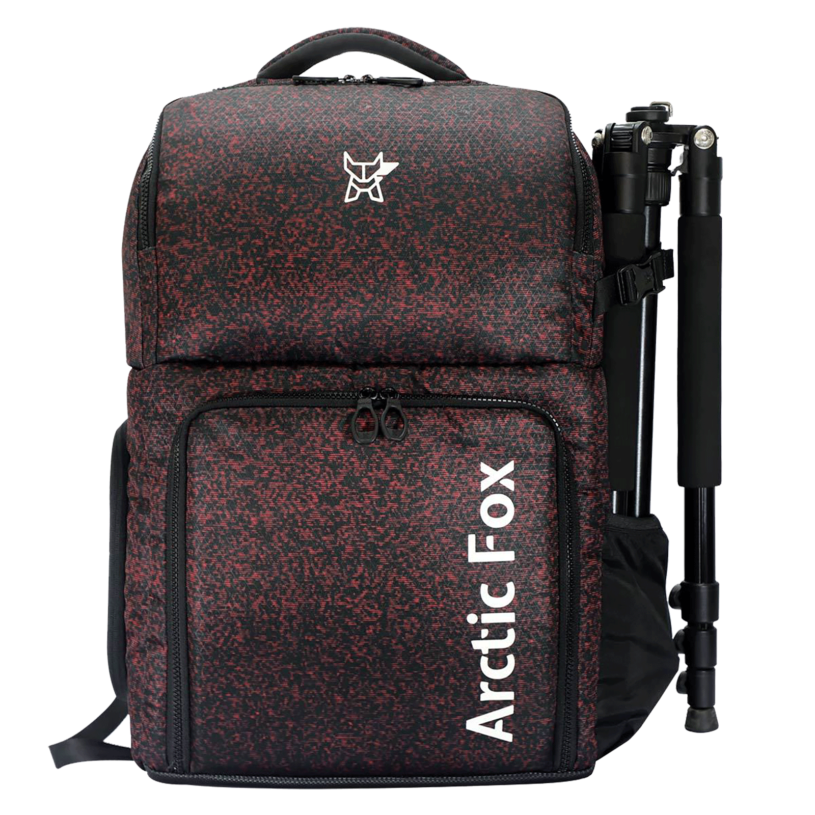 Arctic Fox Polaroid Polyester PU Coated Camera Backpack for Camera (15.5 Inch Laptop Compatible, FEXCMBFIRON201030, Fiery Red)_1